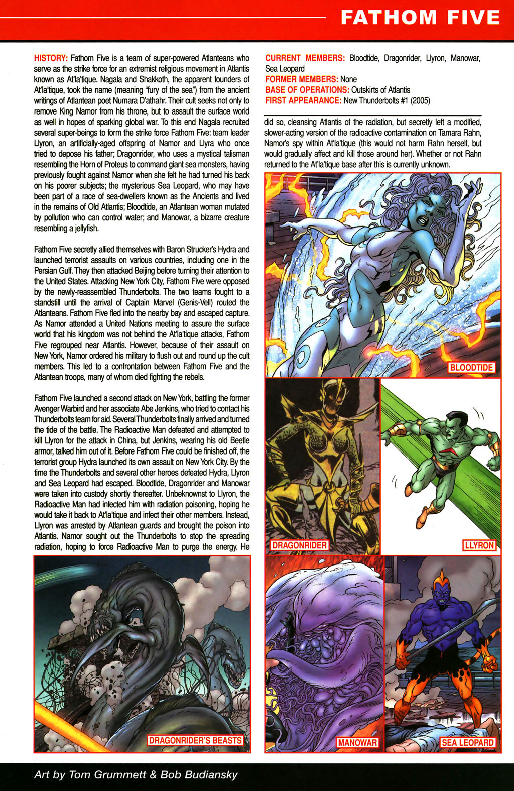 Read online All-New Official Handbook of the Marvel Universe A to Z comic -  Issue #4 - 29