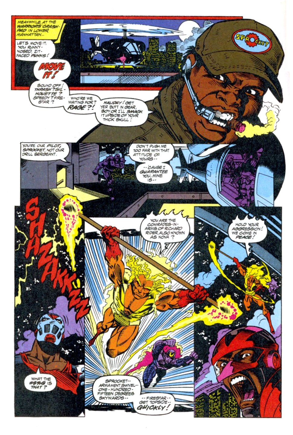 The New Warriors Issue #40 #44 - English 22