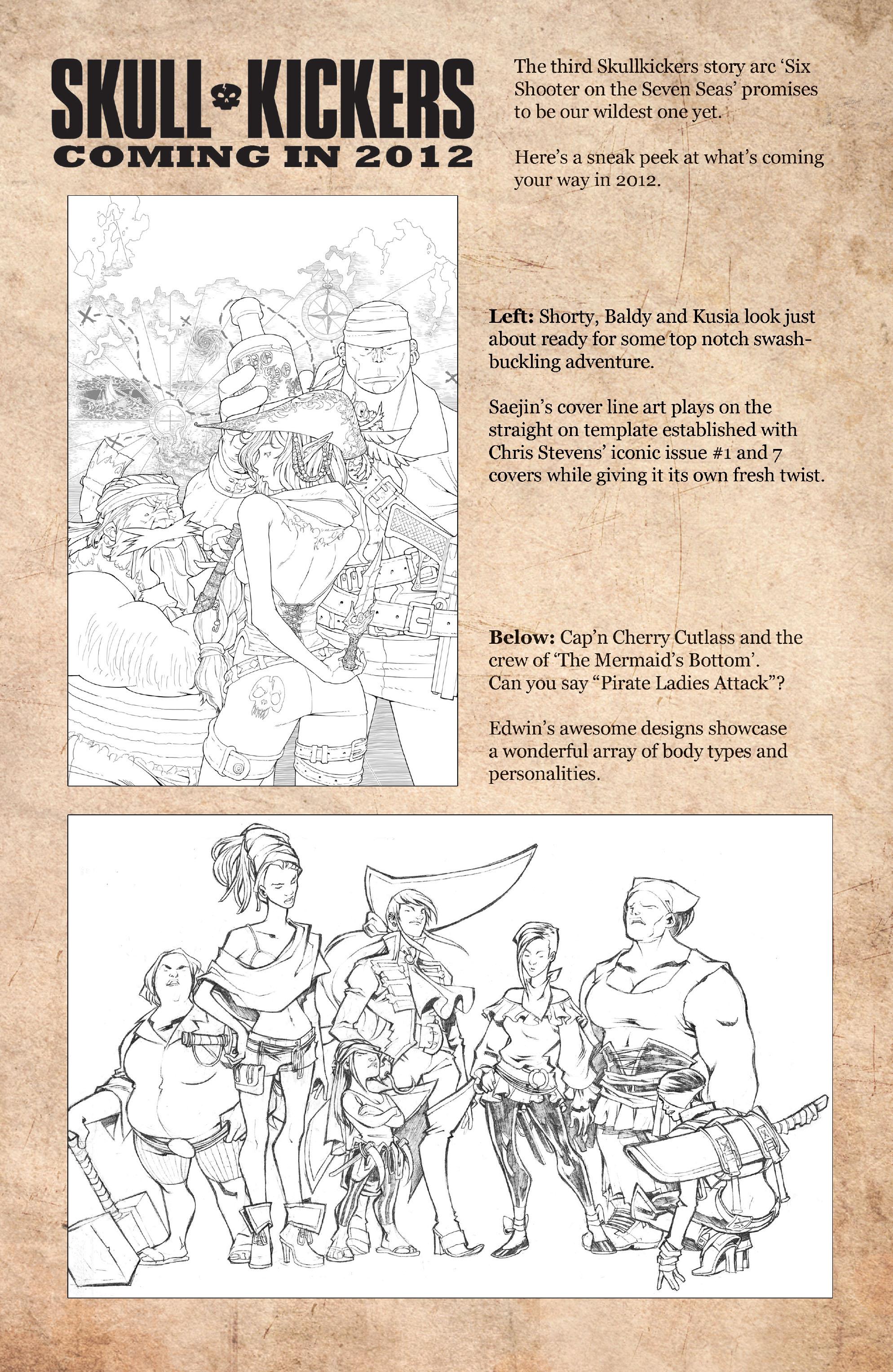 Read online Skullkickers comic -  Issue #11 - 26