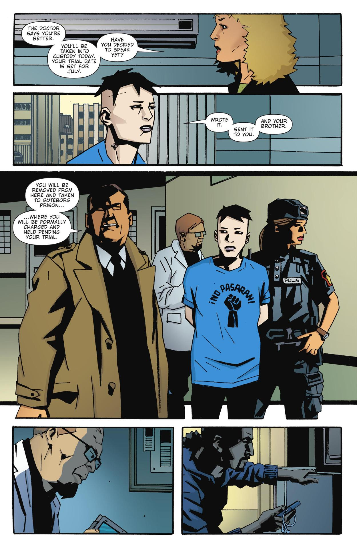 Read online The Girl Who Kicked The Hornet's Nest comic -  Issue # TPB - 194