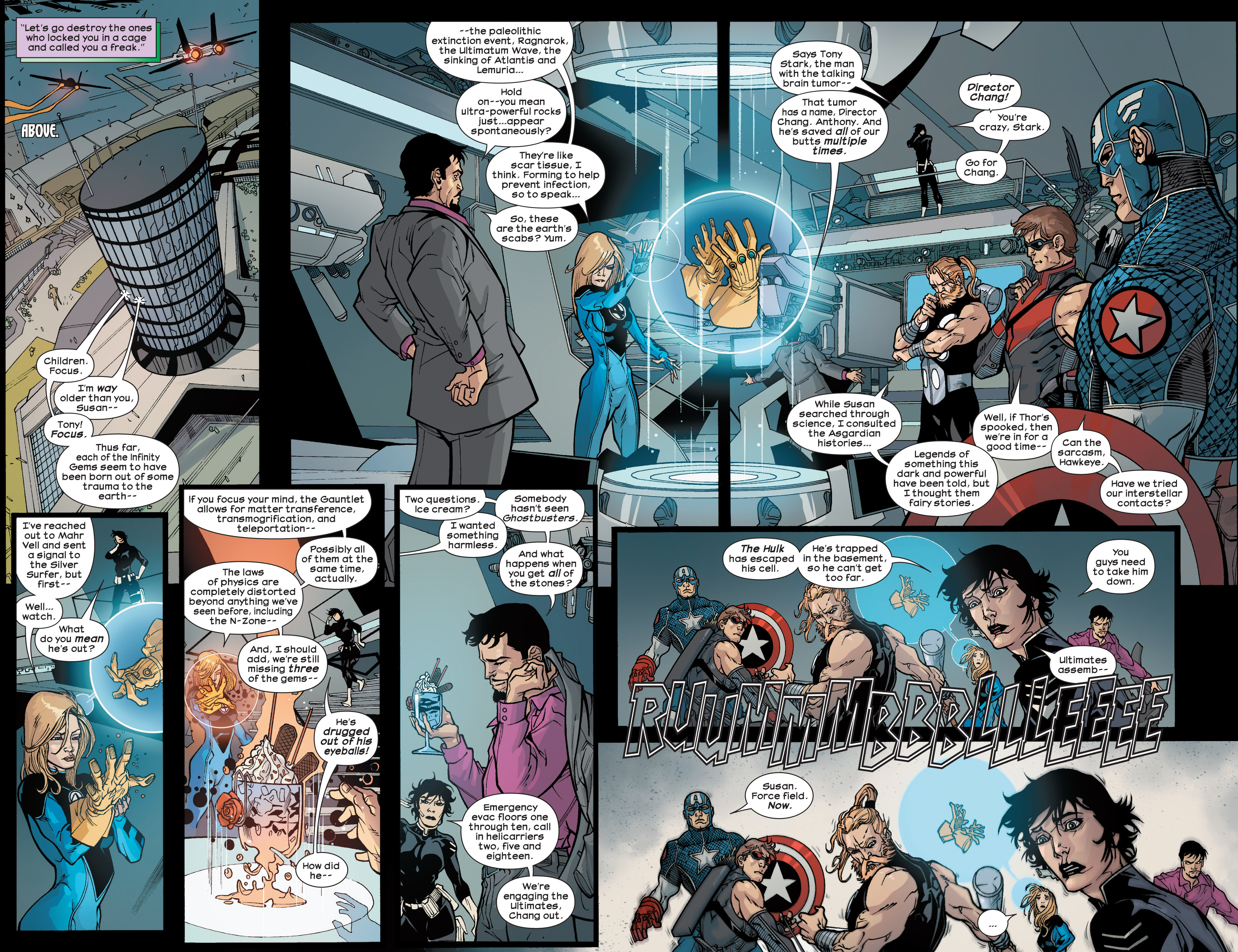 Read online Ultimate Comics Ultimates comic -  Issue #25 - 4