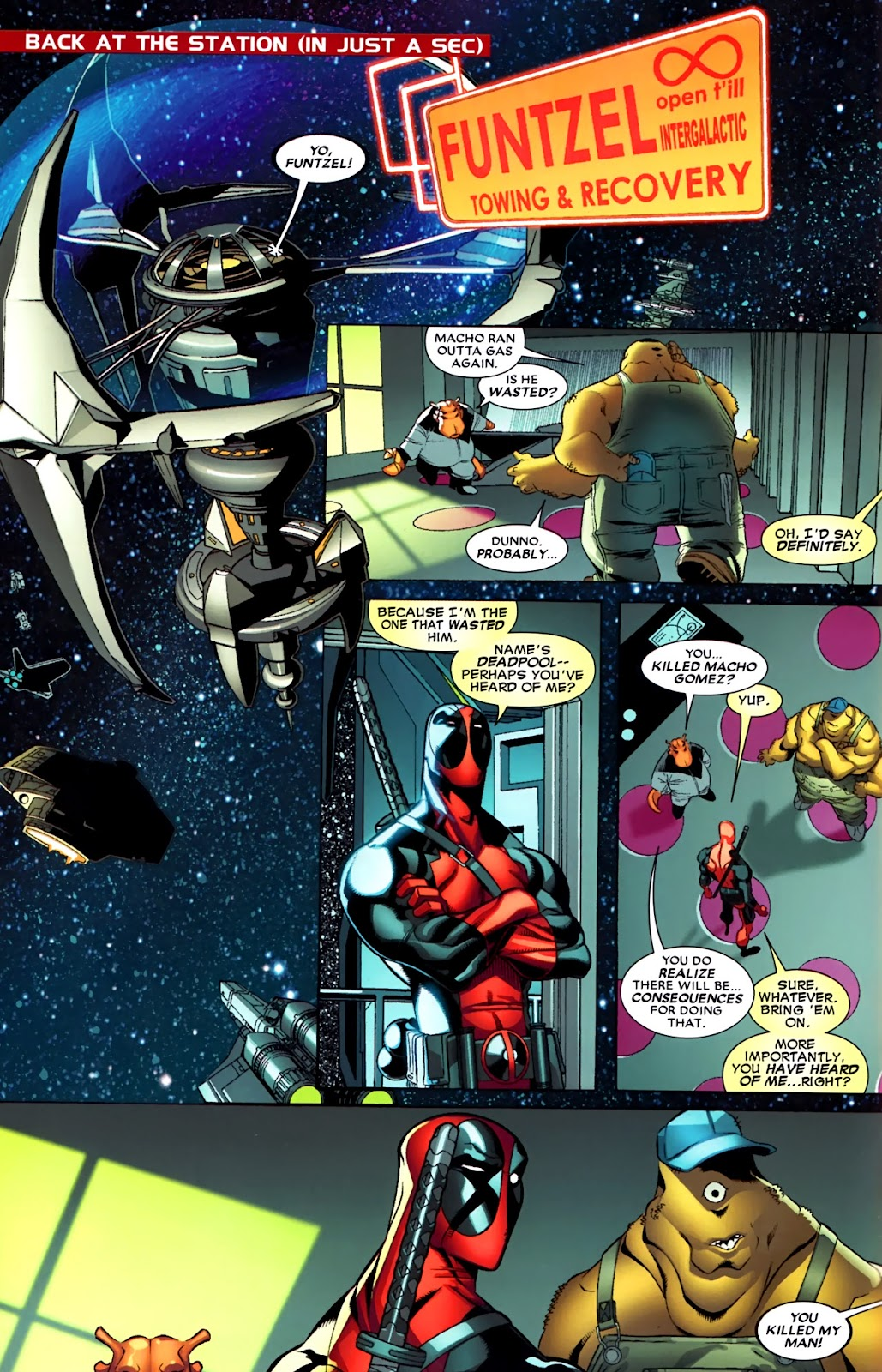 Read online Deadpool (2008) comic -  Issue #33 - 10