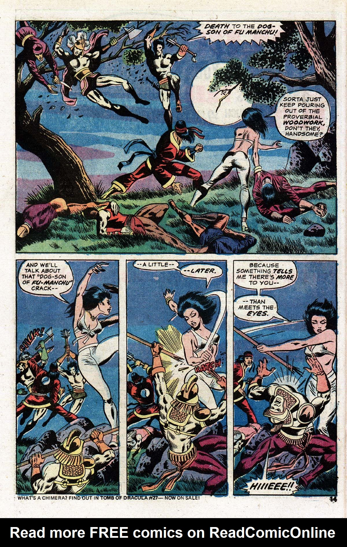 Read online Giant-Size Master of Kung Fu comic -  Issue #2 - 12