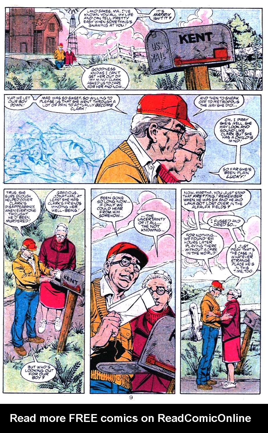 Read online Adventures of Superman (1987) comic -  Issue #456 - 9