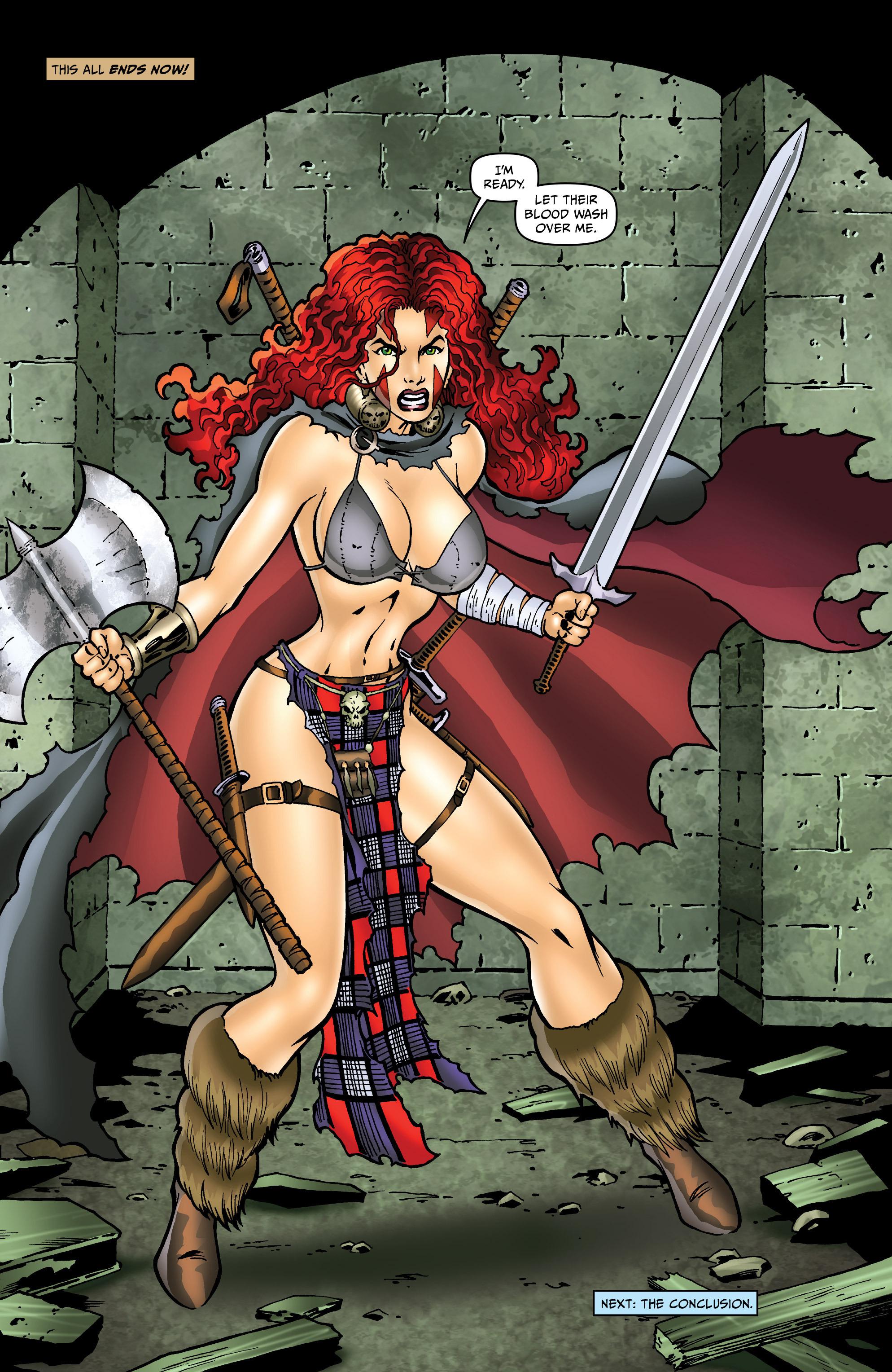 Read online Belladonna: Origins comic -  Issue #5 - 22