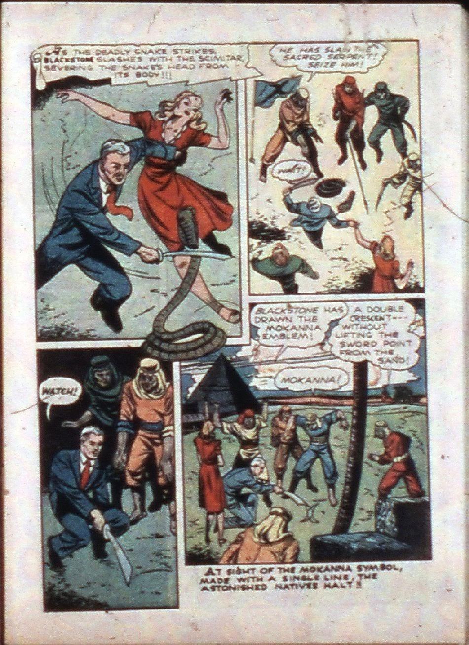 Read online Super-Magician Comics comic -  Issue #3 - 15
