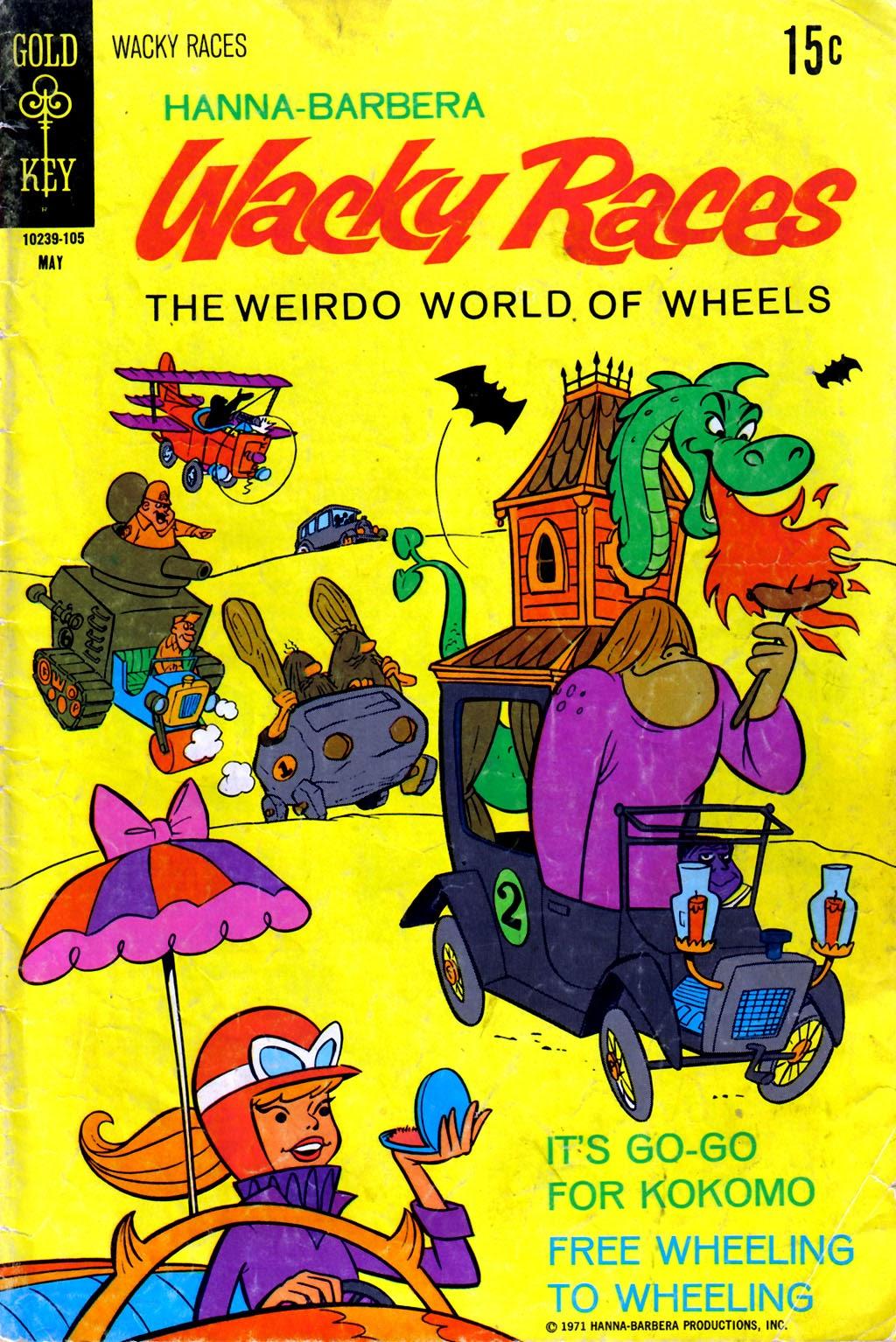Hanna-Barbera Wacky Races 3 Page 1