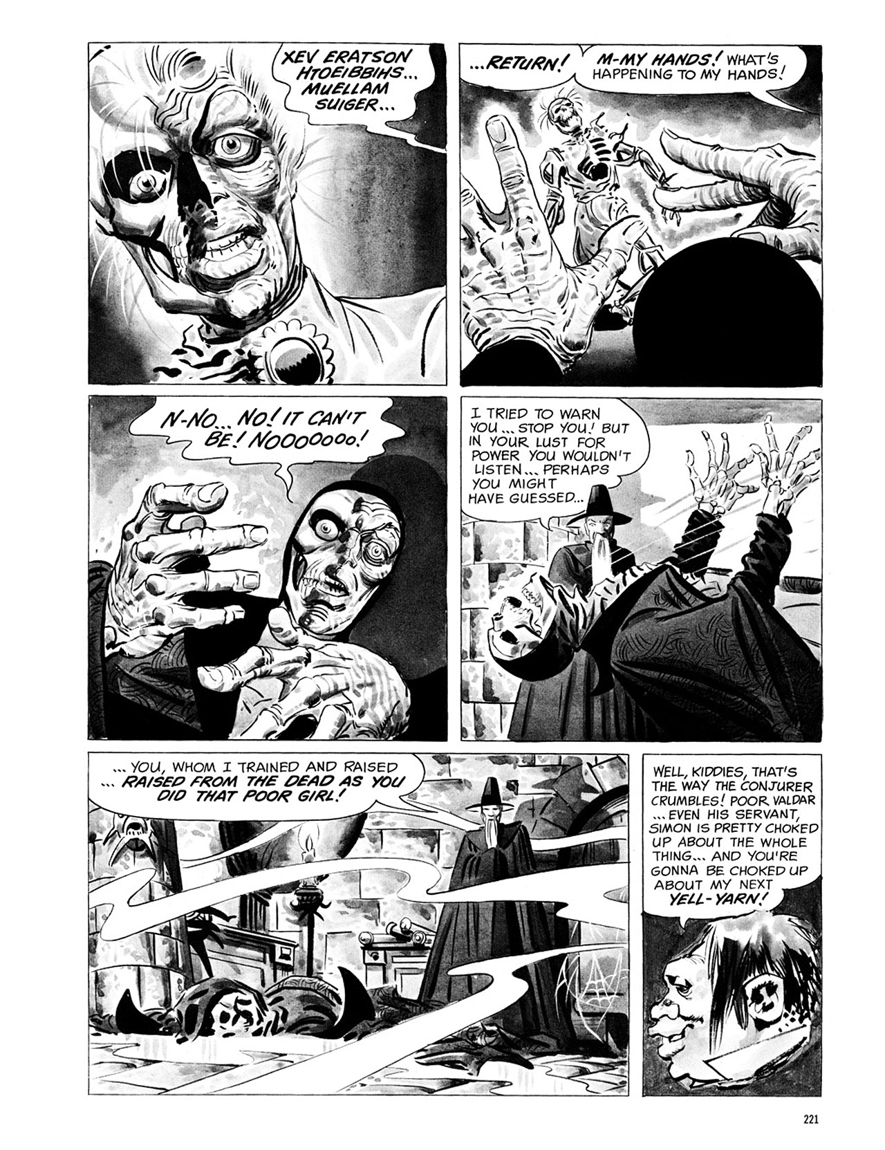 Read online Eerie Archives comic -  Issue # TPB 1 - 222