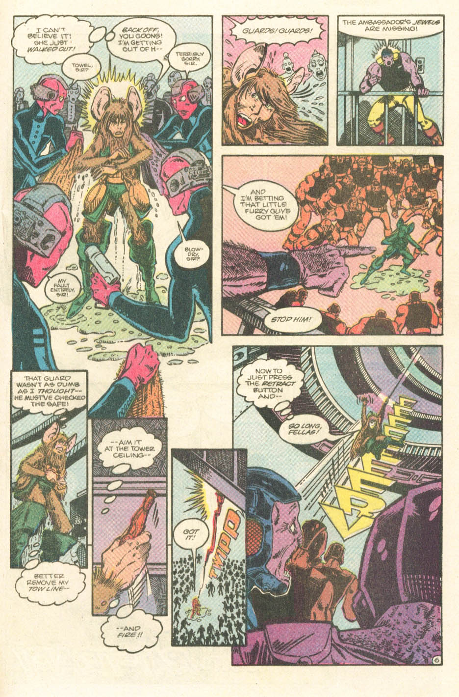 Read online Atari Force (1984) comic -  Issue #15 - 27