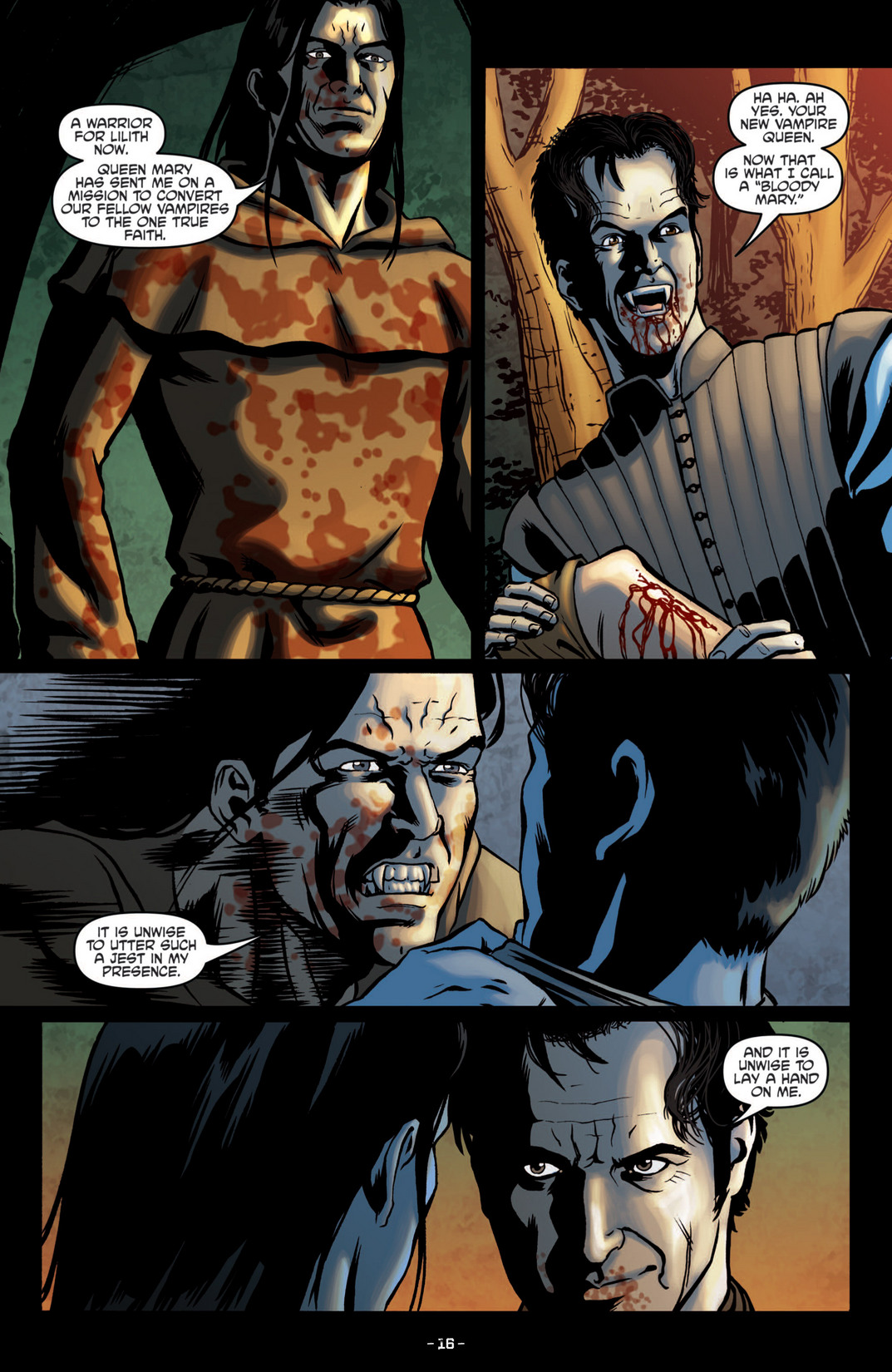 Read online True Blood (2012) comic -  Issue #5 - 18
