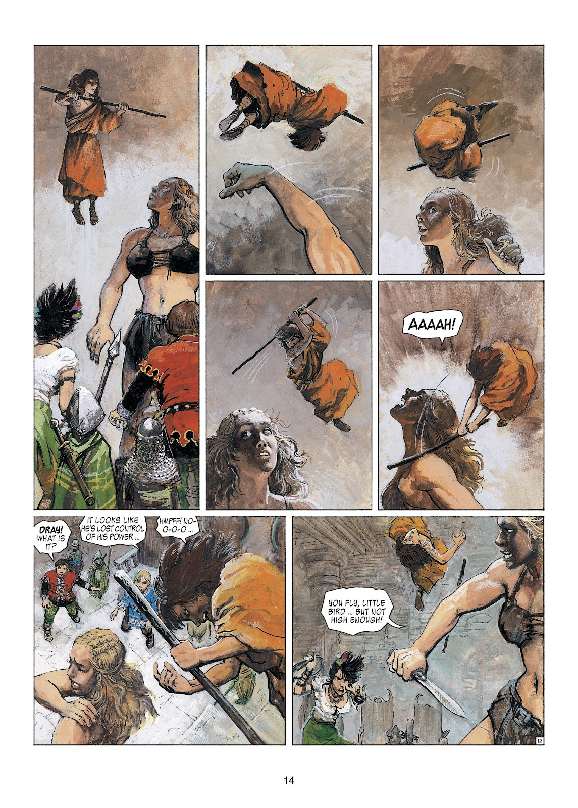 Read online Thorgal comic -  Issue #23 - 16
