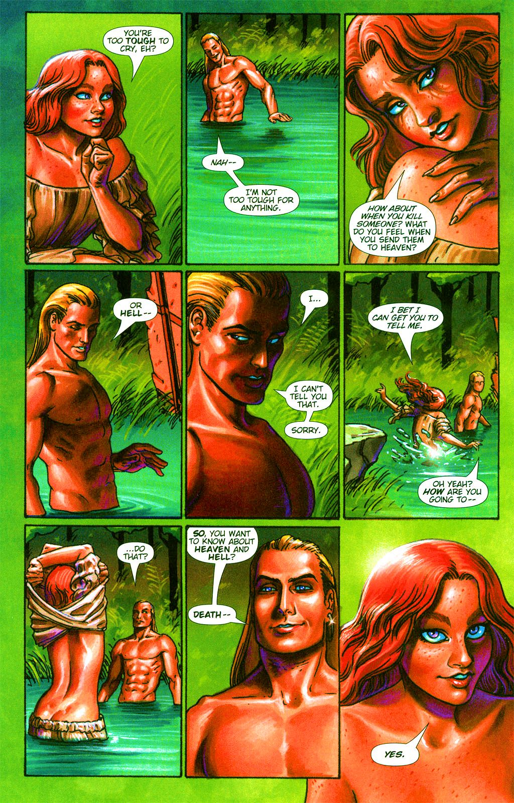 Read online Dawn: Three Tiers comic -  Issue #2 - 15