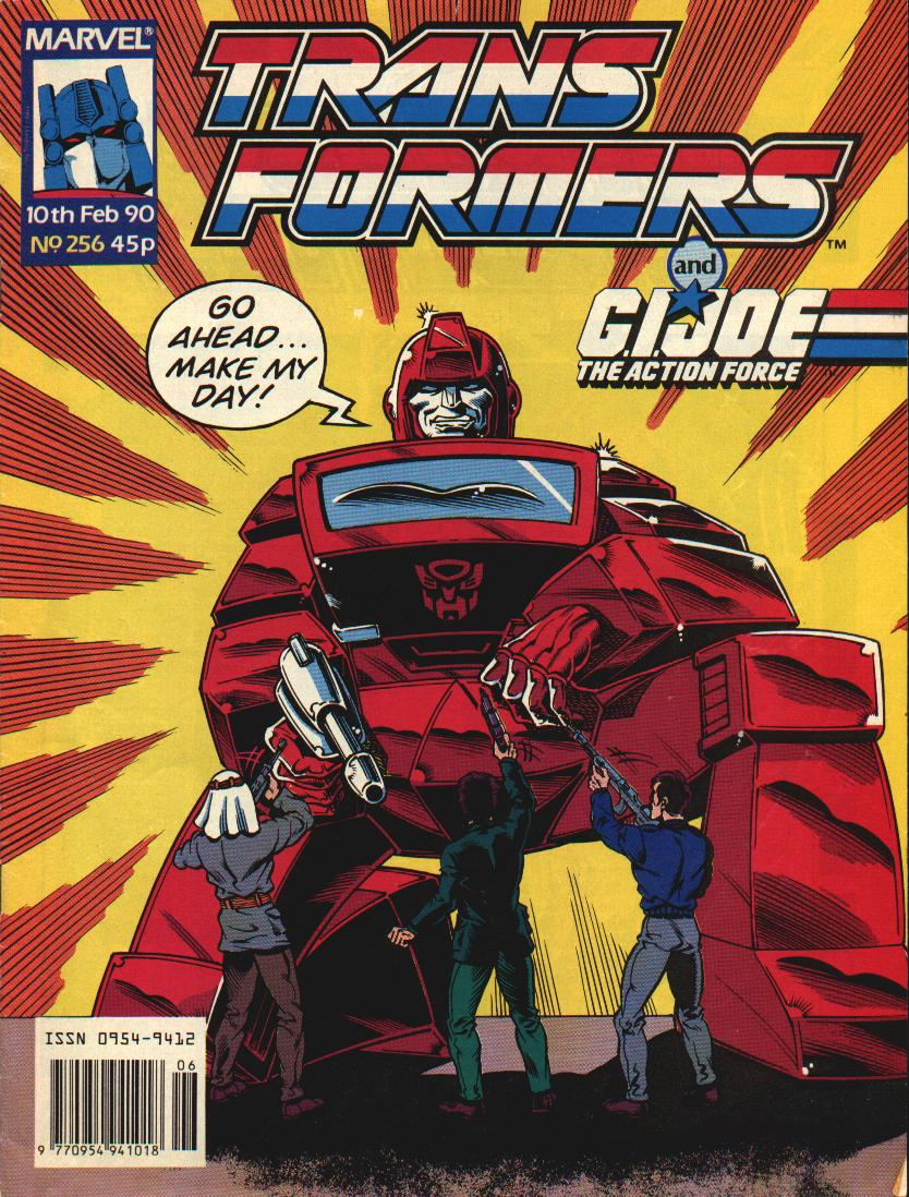 The Transformers (UK) 256 Page 1