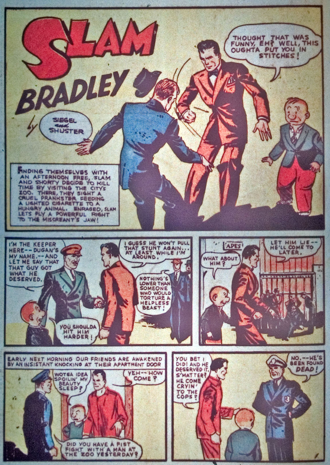 Read online Detective Comics (1937) comic -  Issue #31 - 54