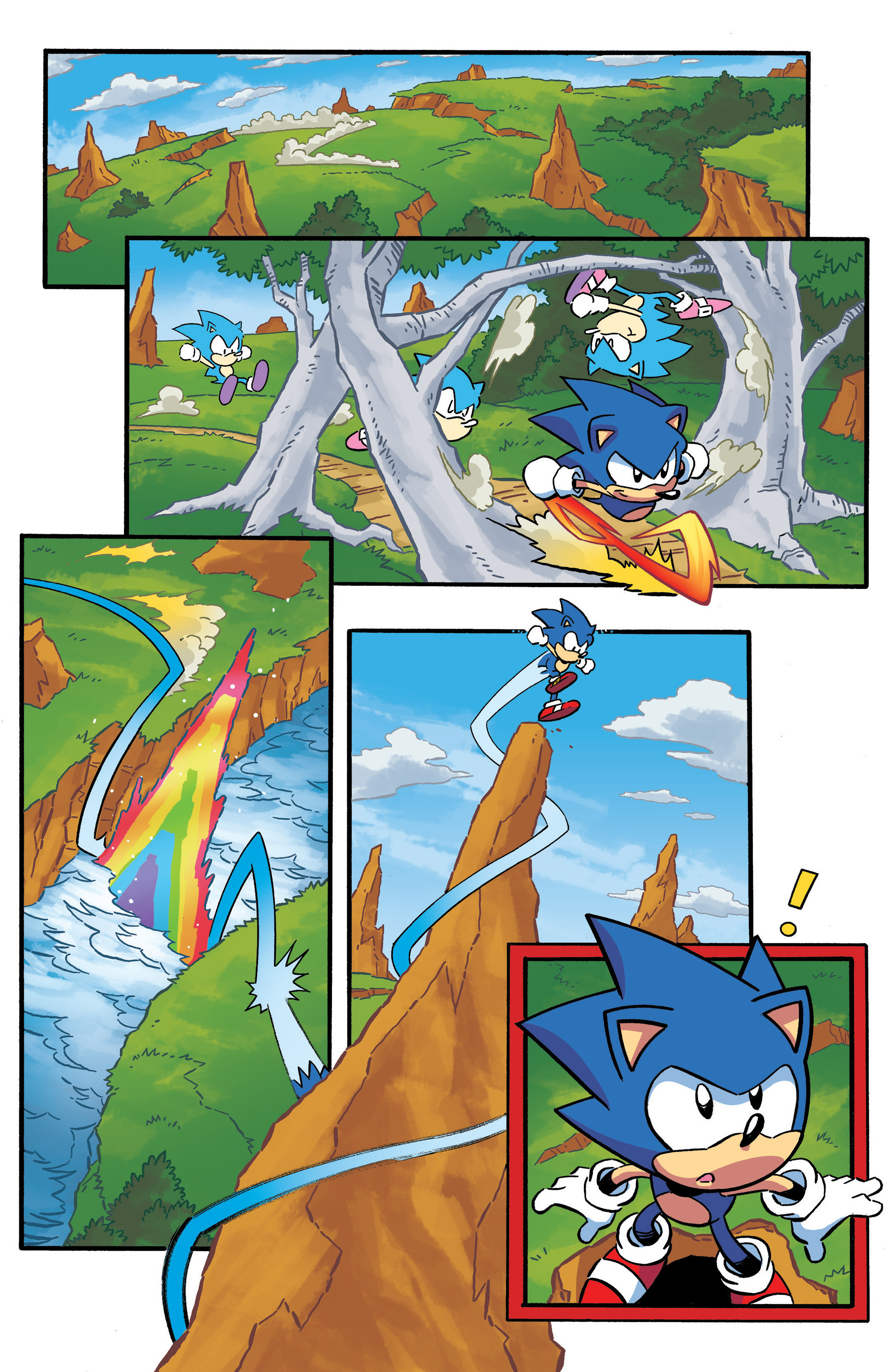 Read online Sonic The Hedgehog comic -  Issue #290 - 3