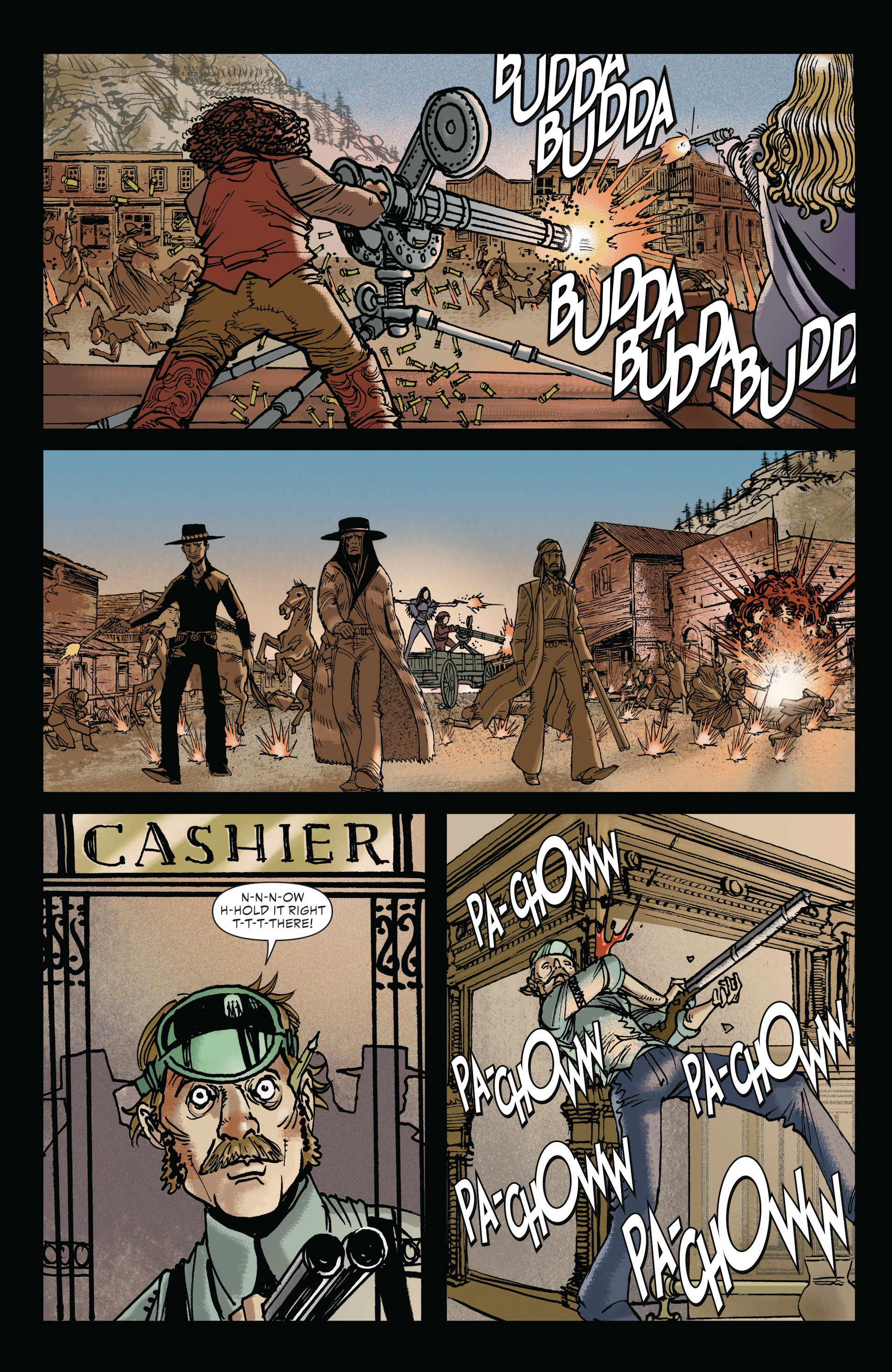 Read online All-Star Western (2011) comic -  Issue #19 - 9