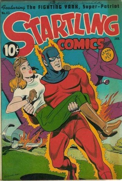 Startling Comics 43 Page 1
