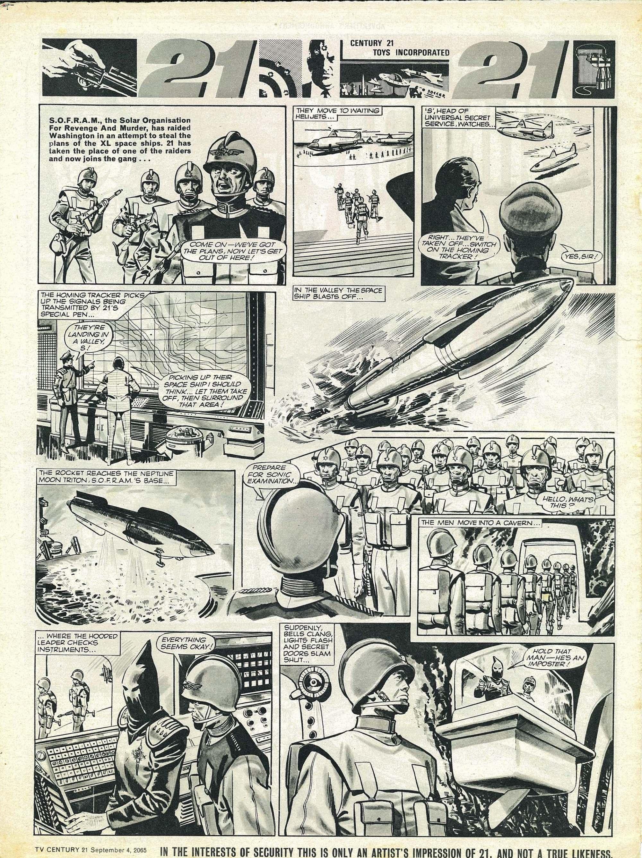 Read online TV Century 21 (TV 21) comic -  Issue #33 - 7