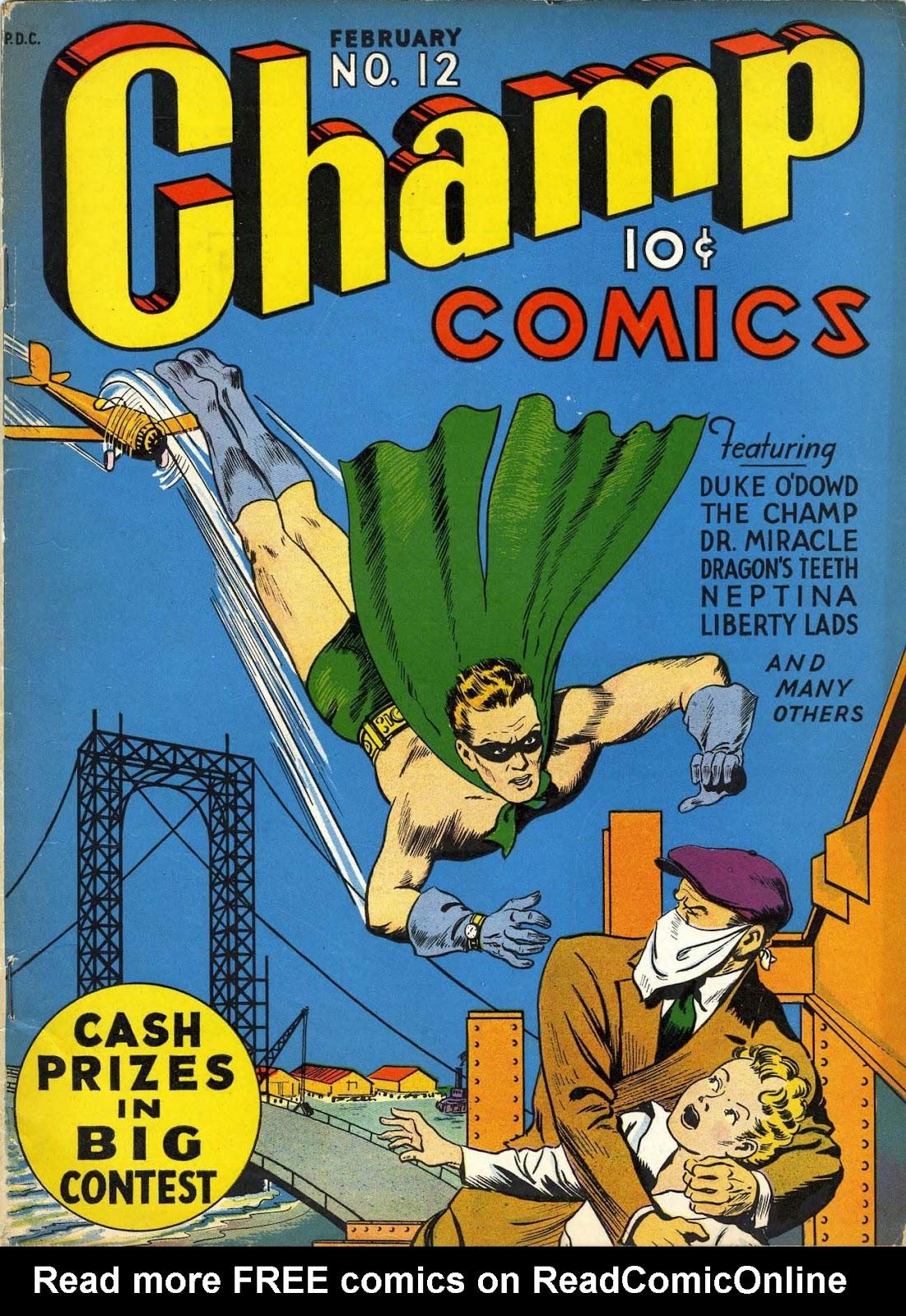 Champ Comics 12 Page 1