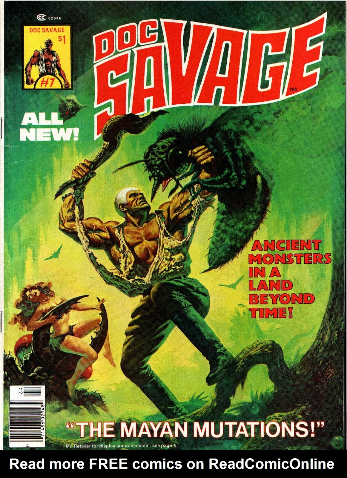 Doc Savage (1975) issue 7 - Page 1