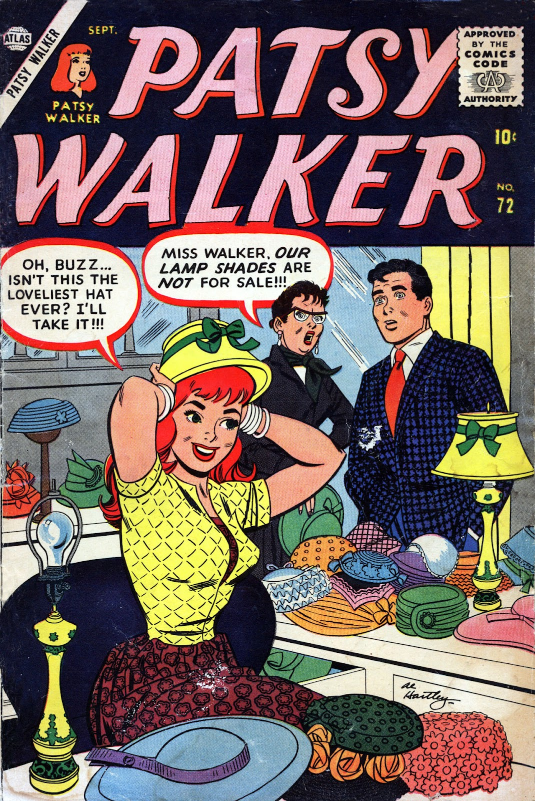 Patsy Walker 72 Page 1