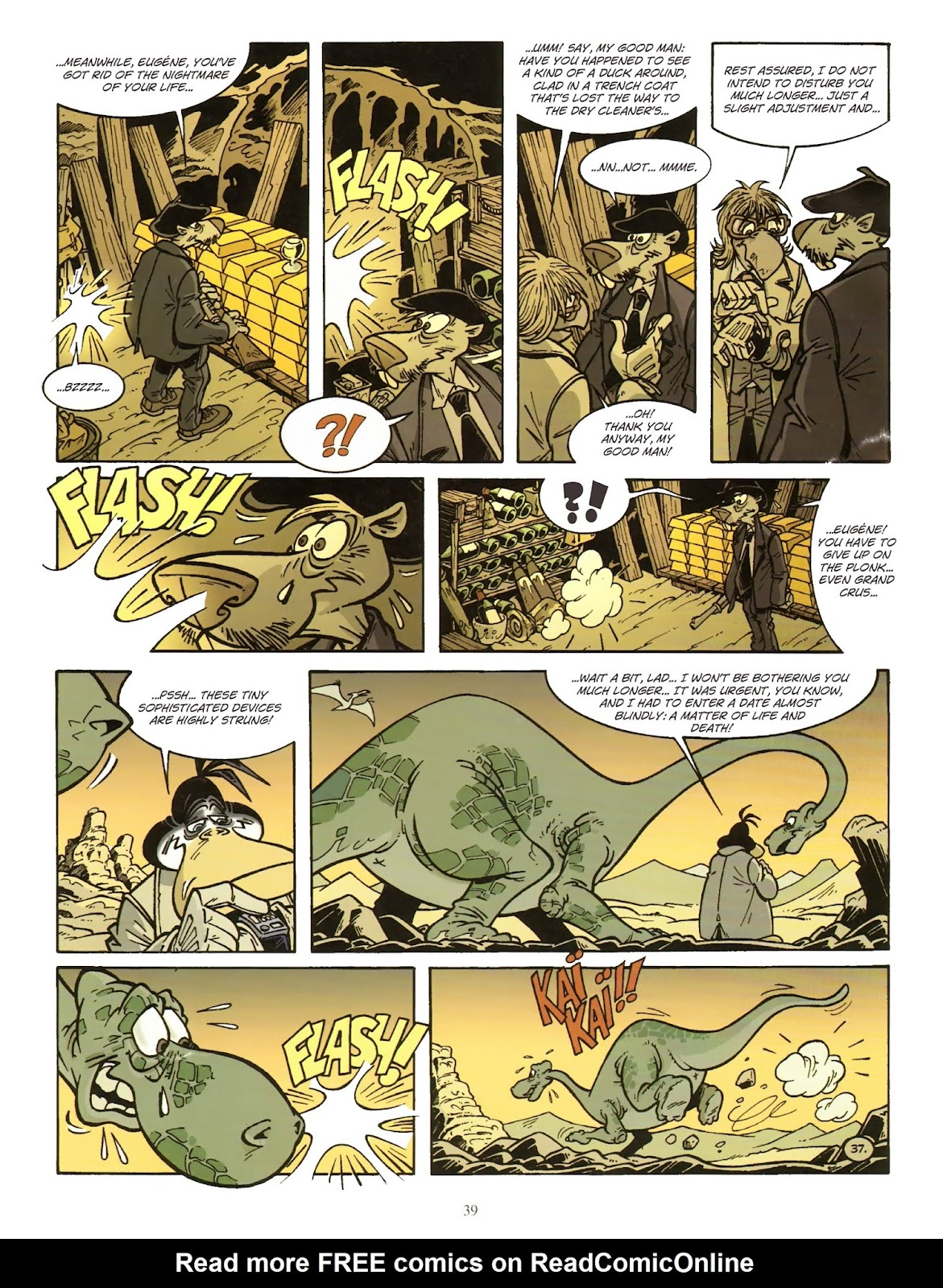 Une enquête de l'inspecteur Canardo issue 11 - Page 40