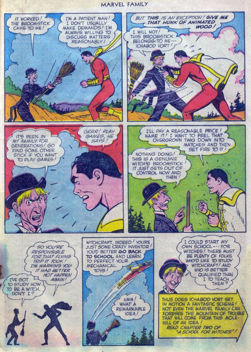The Marvel Family issue 52 - Page 8