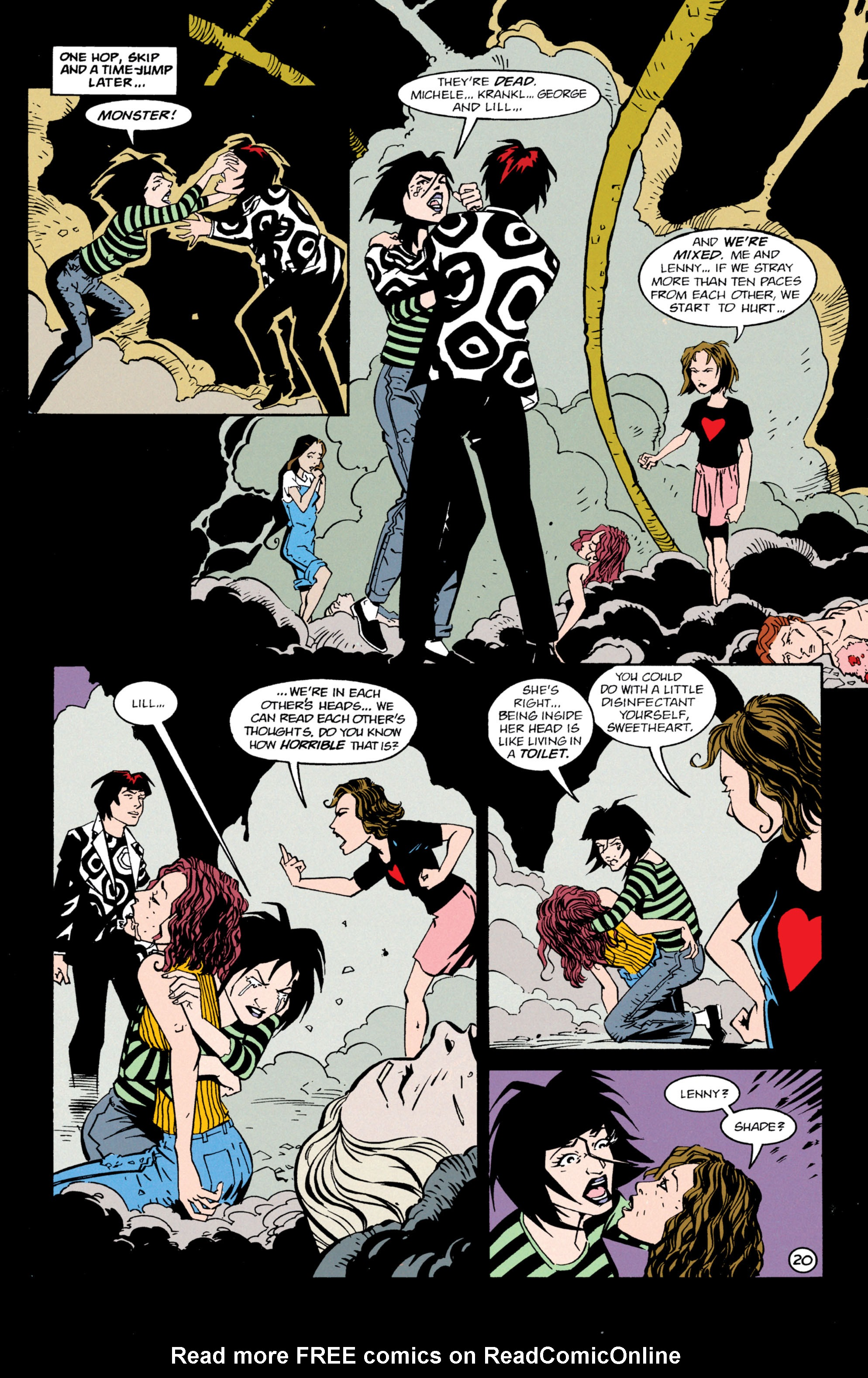 Read online Shade, the Changing Man comic -  Issue #63 - 21