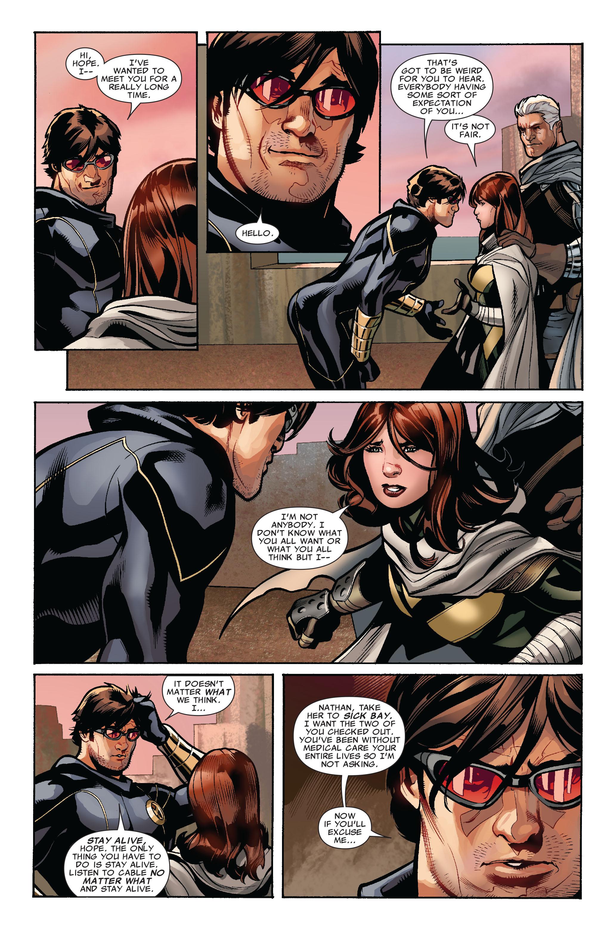 Read online Uncanny X-Men (1963) comic -  Issue #524 - 8