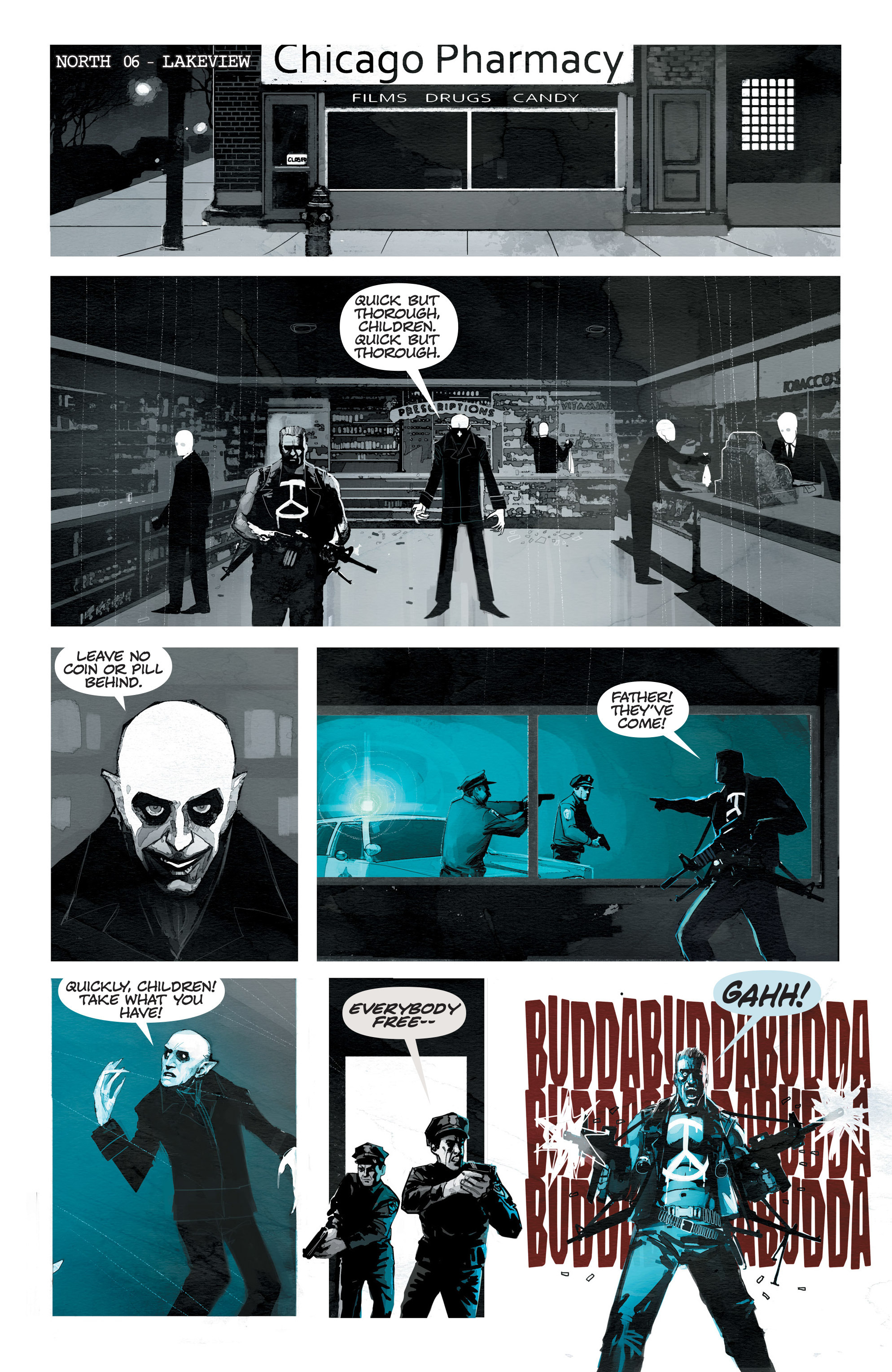 Read online C.O.W.L. comic -  Issue #10 - 20