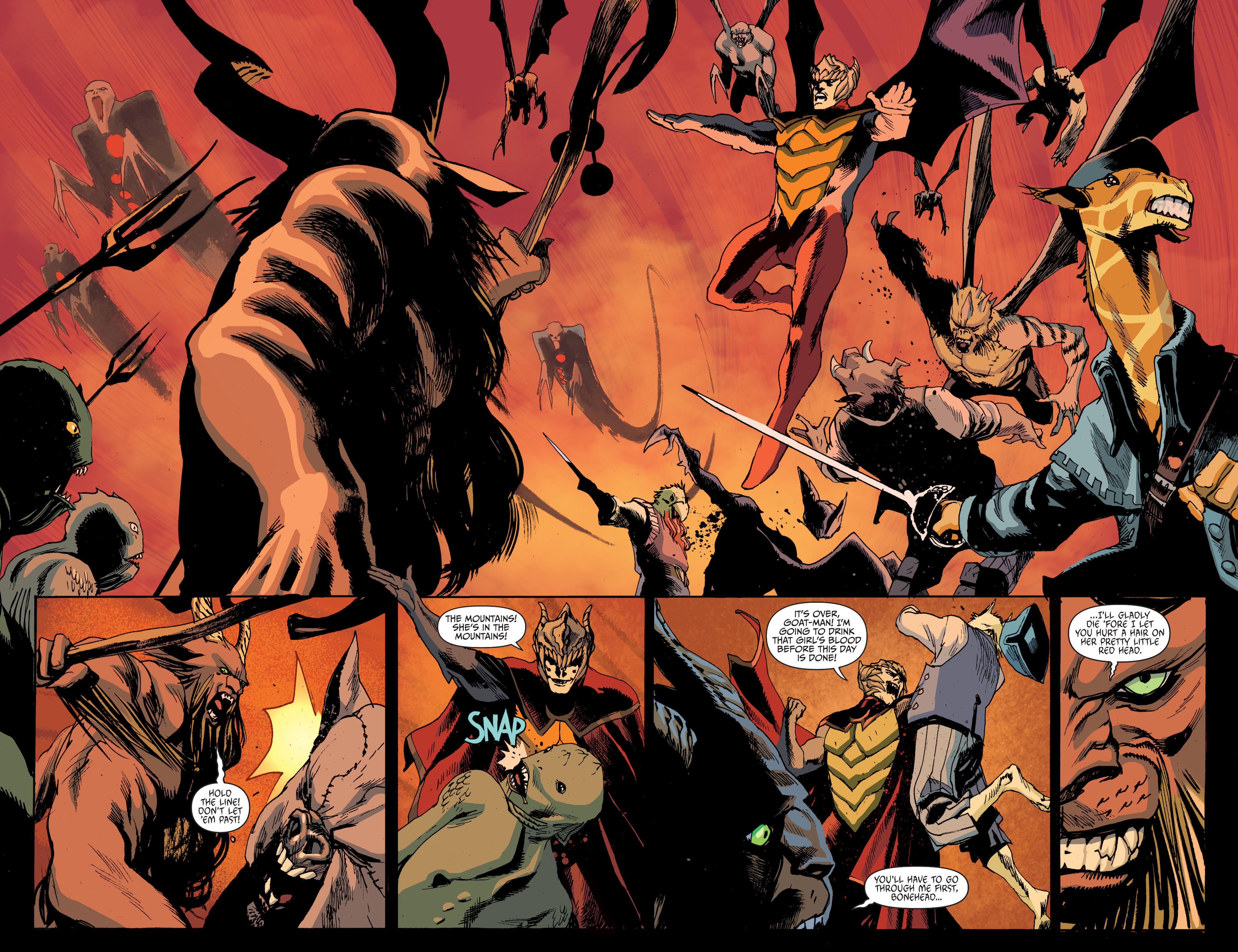 Read online Animal Man (2011) comic -  Issue #27 - 16