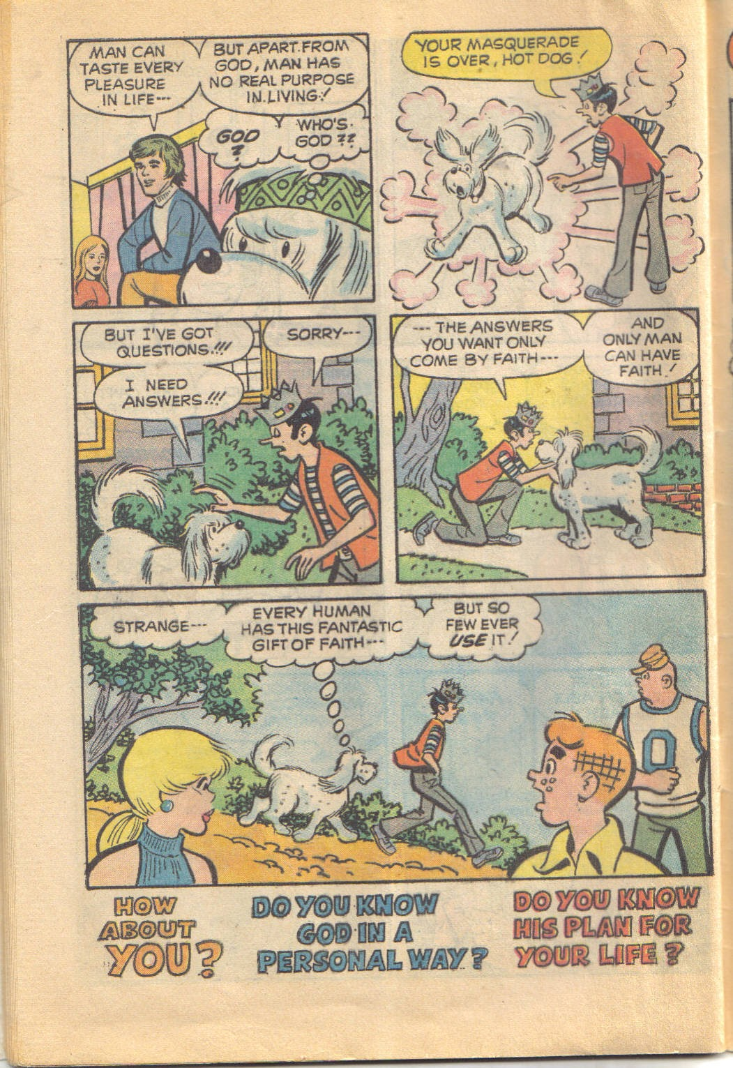 Archie's Love Scene issue Full - Page 32