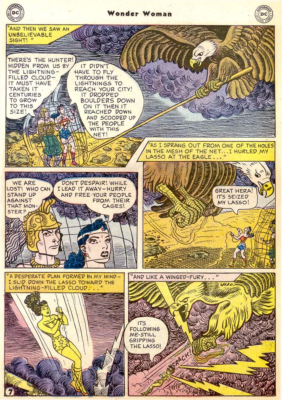 Read online Wonder Woman (1942) comic -  Issue #91 - 22