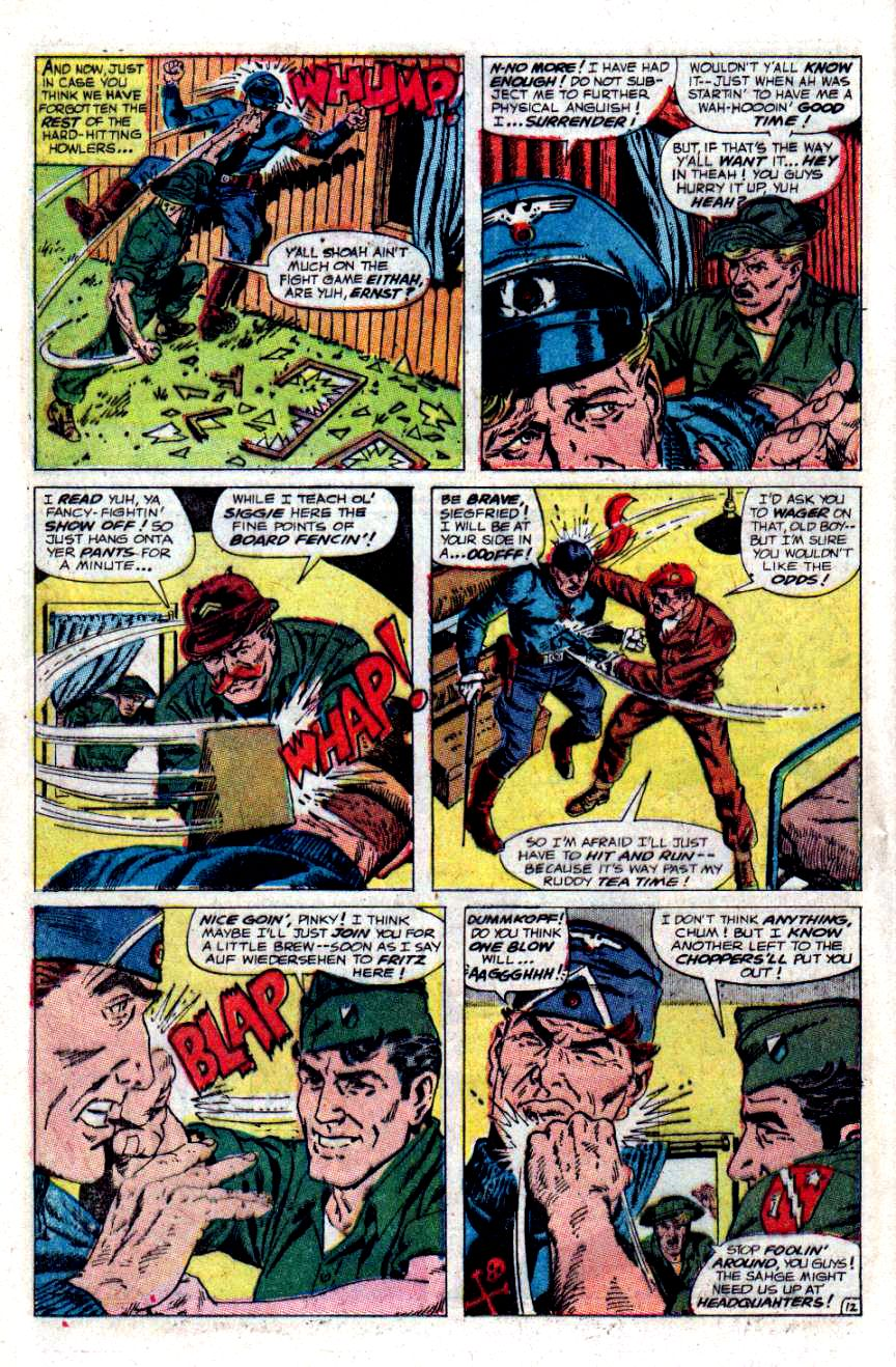 Read online Sgt. Fury comic -  Issue #48 - 16