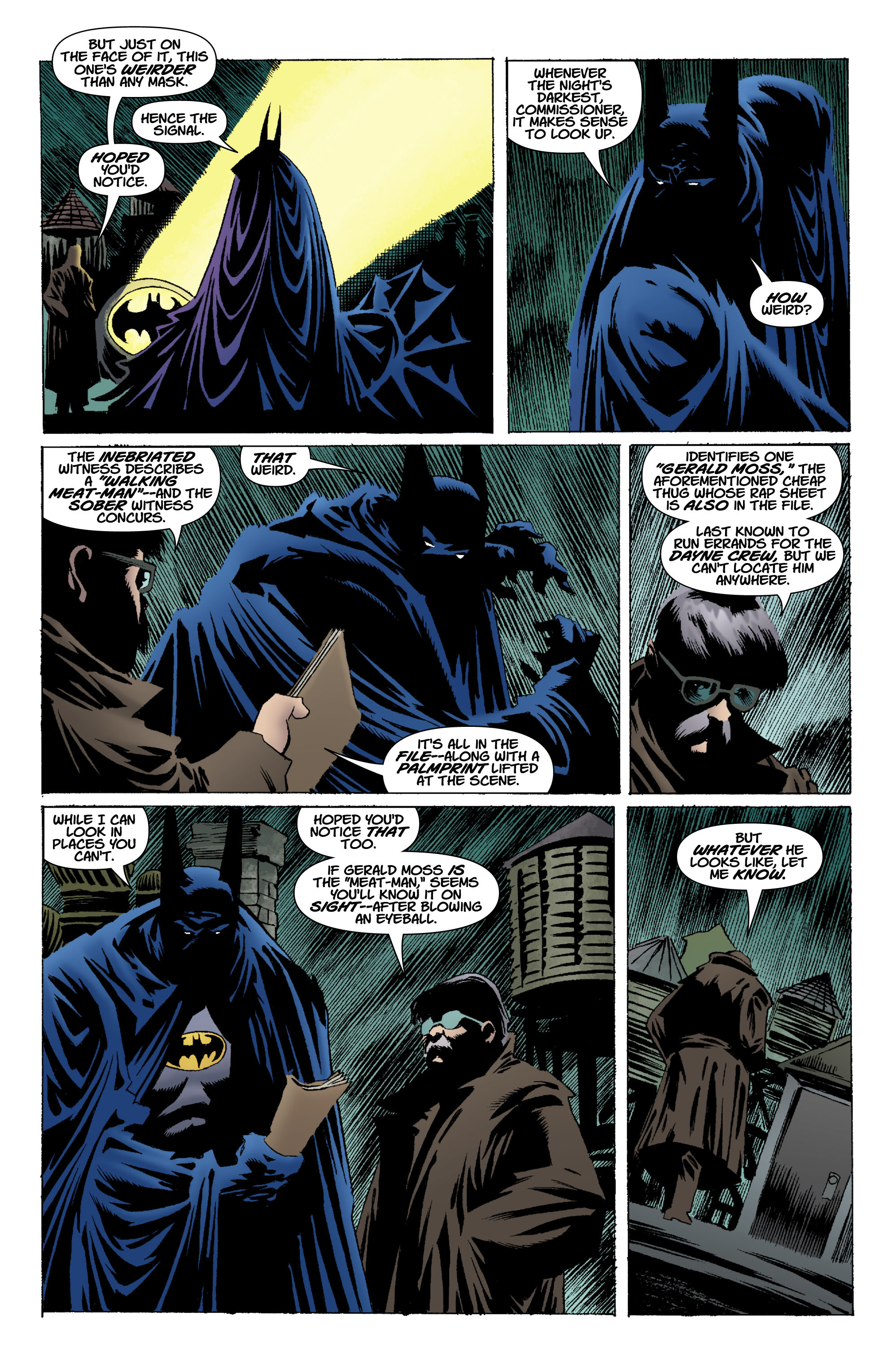 Read online Batman: Unseen comic -  Issue #1 - 19