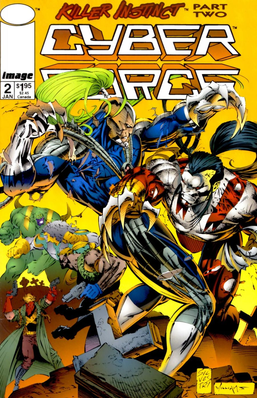 Cyberforce (1993) issue 2 - Page 1