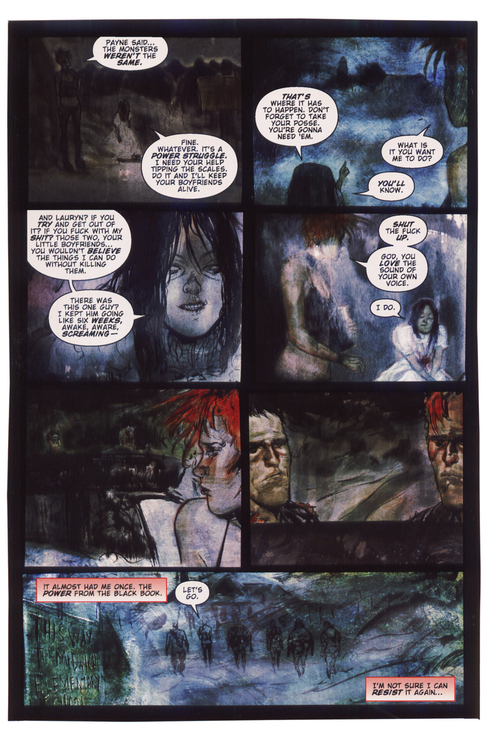 Read online Silent Hill: Dying Inside comic -  Issue #5 - 8