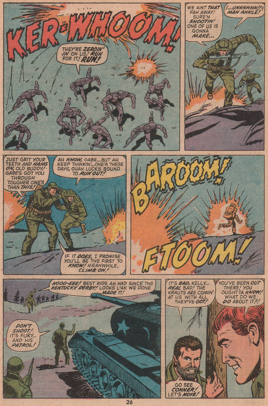 Read online Sgt. Fury comic -  Issue #104 - 28