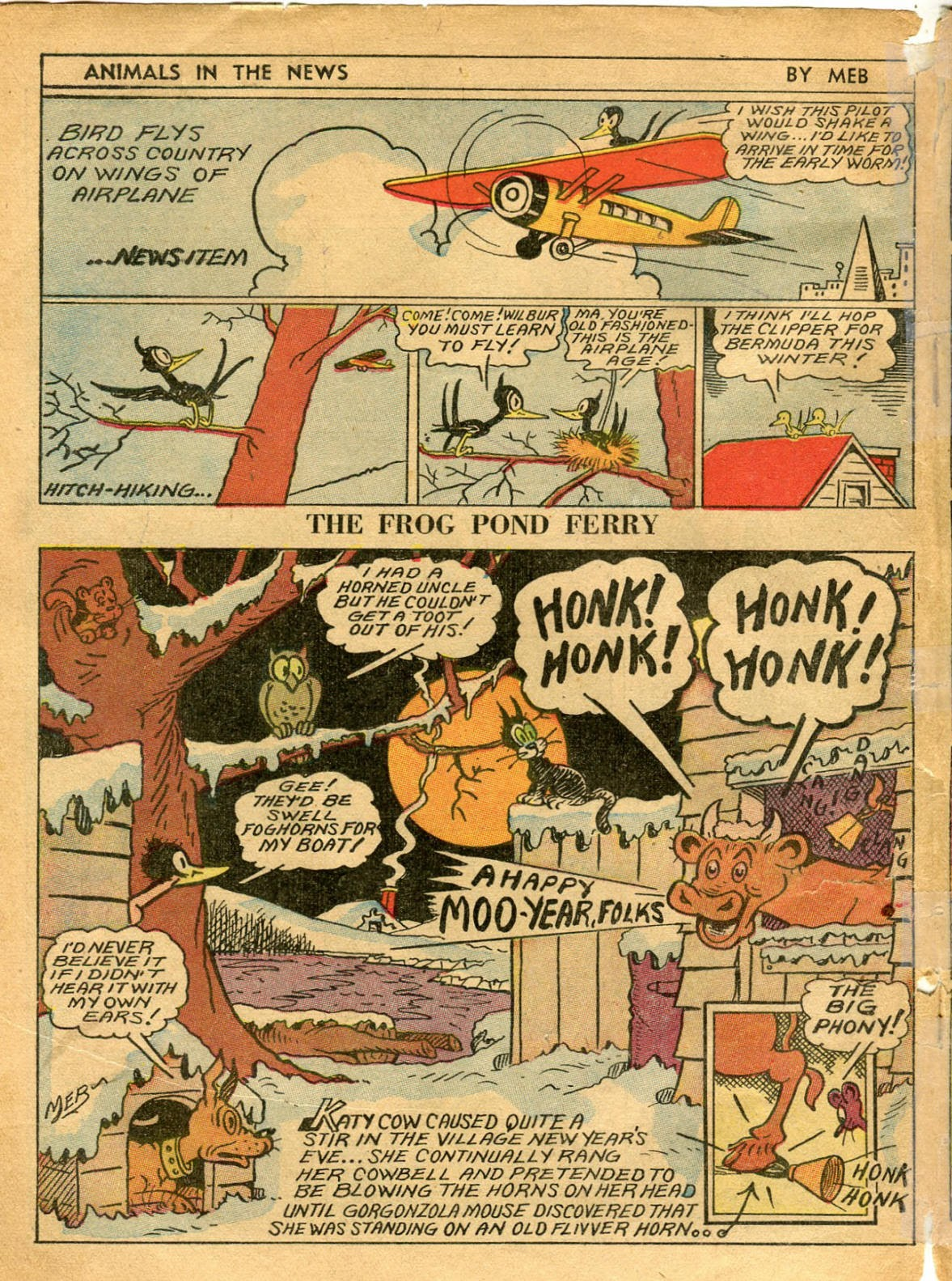 Read online Famous Funnies comic -  Issue #42 - 61