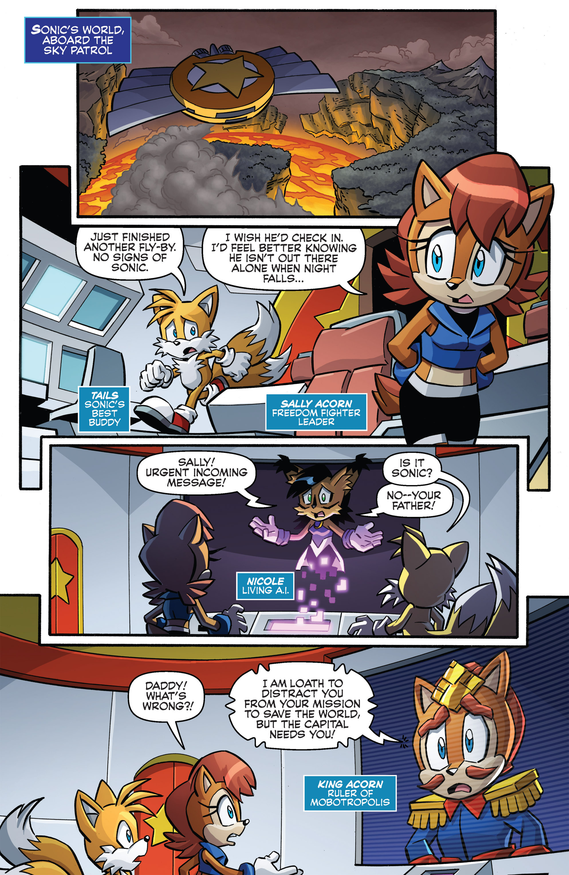 Read online Sonic Boom comic -  Issue #8 - 21