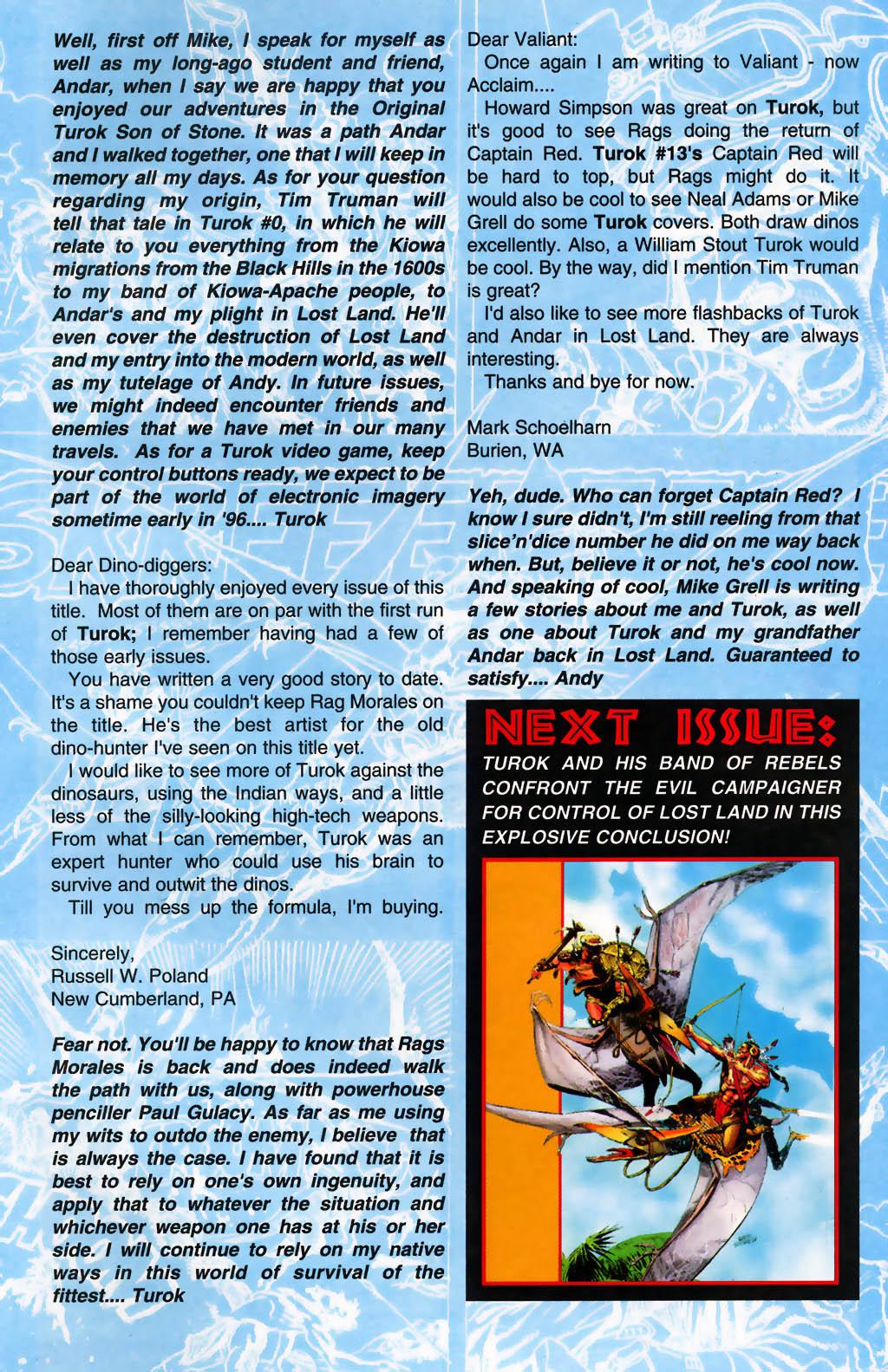 Read online Turok, Dinosaur Hunter (1993) comic -  Issue #26 - 24