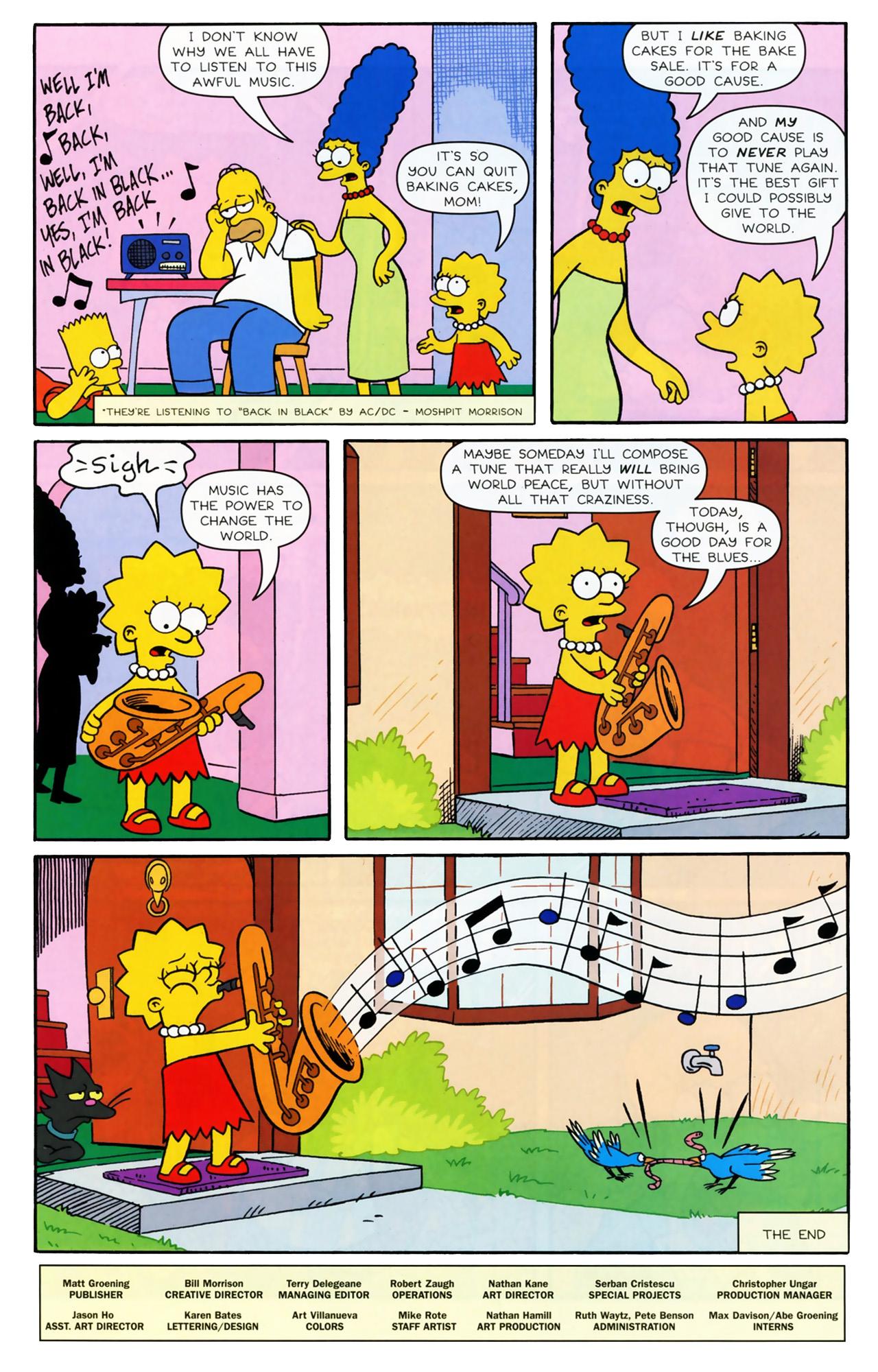 Read online Simpsons Comics comic -  Issue #170 - 25