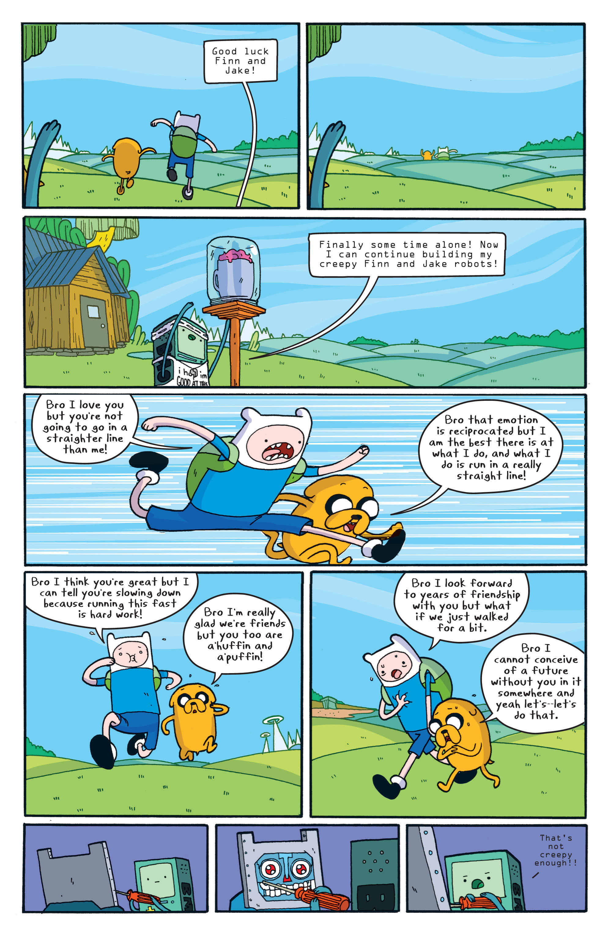 Read online Adventure Time comic -  Issue #5 - 10