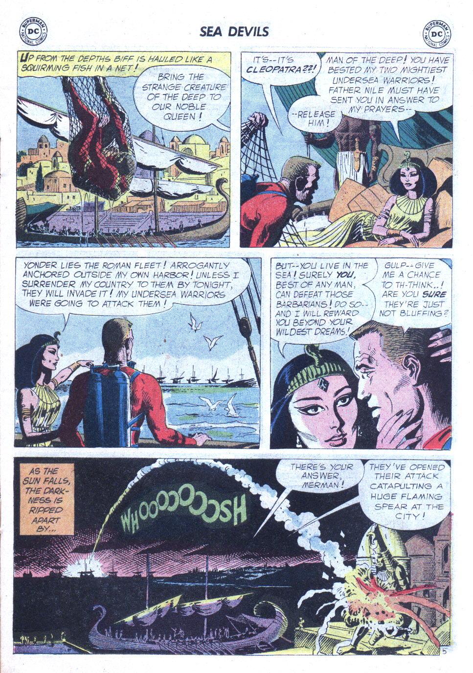 Read online Sea Devils comic -  Issue #6 - 8