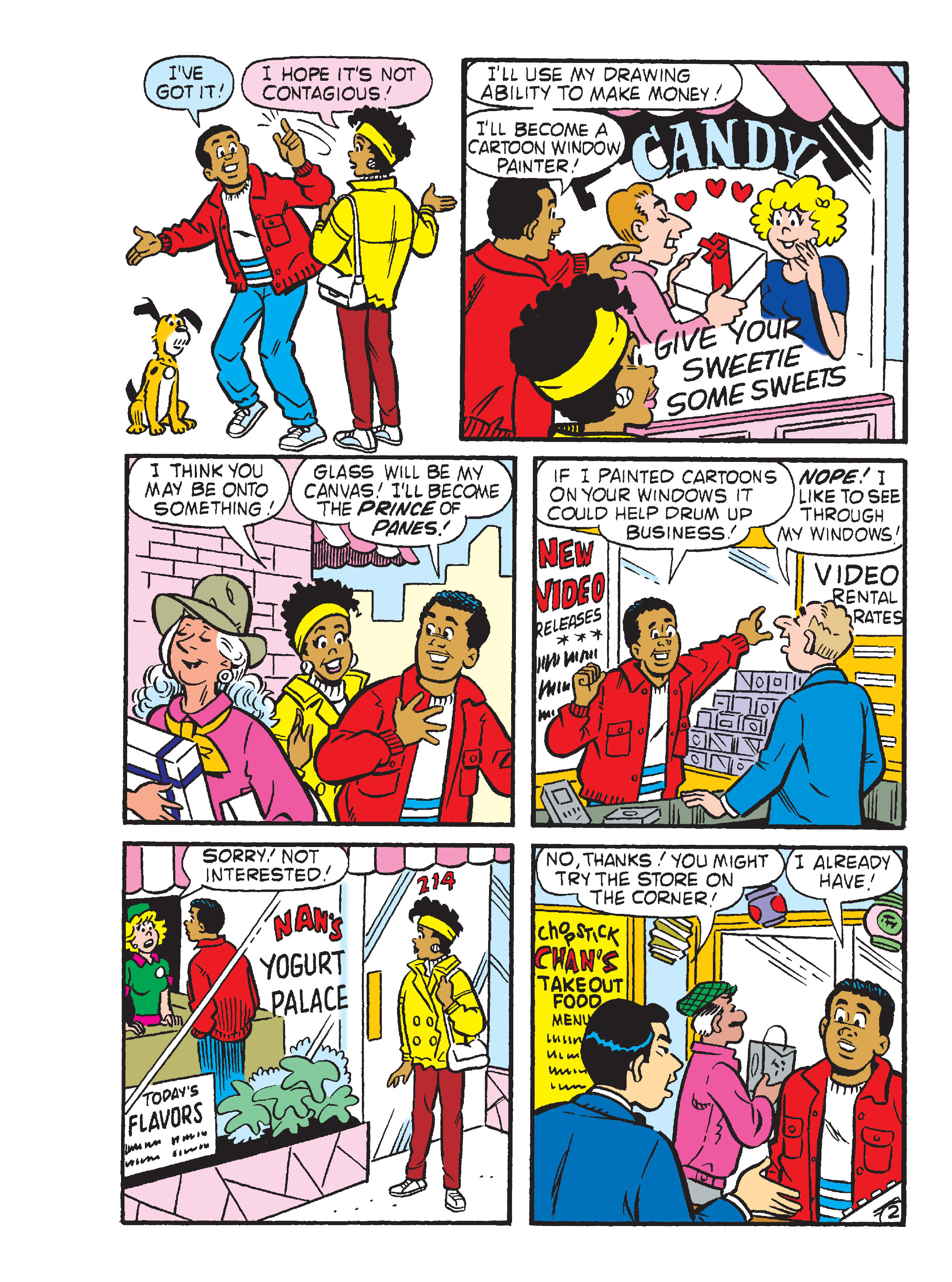 Read online Archie's Funhouse Double Digest comic -  Issue #23 - 137