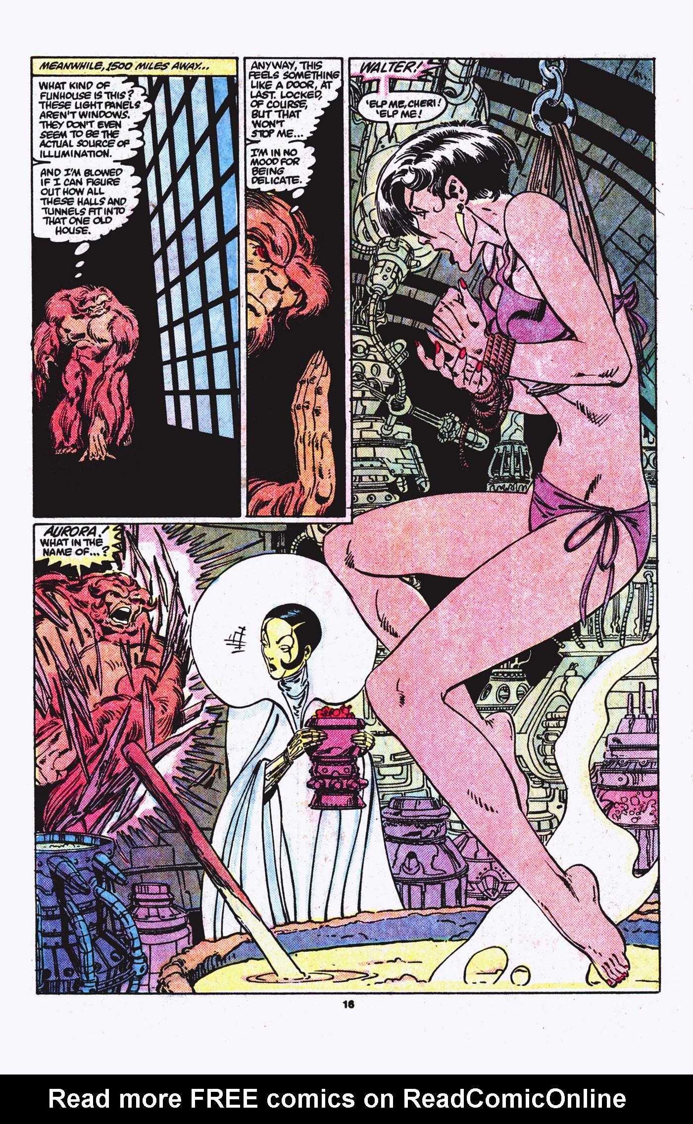 Read online Alpha Flight (1983) comic -  Issue #21 - 17