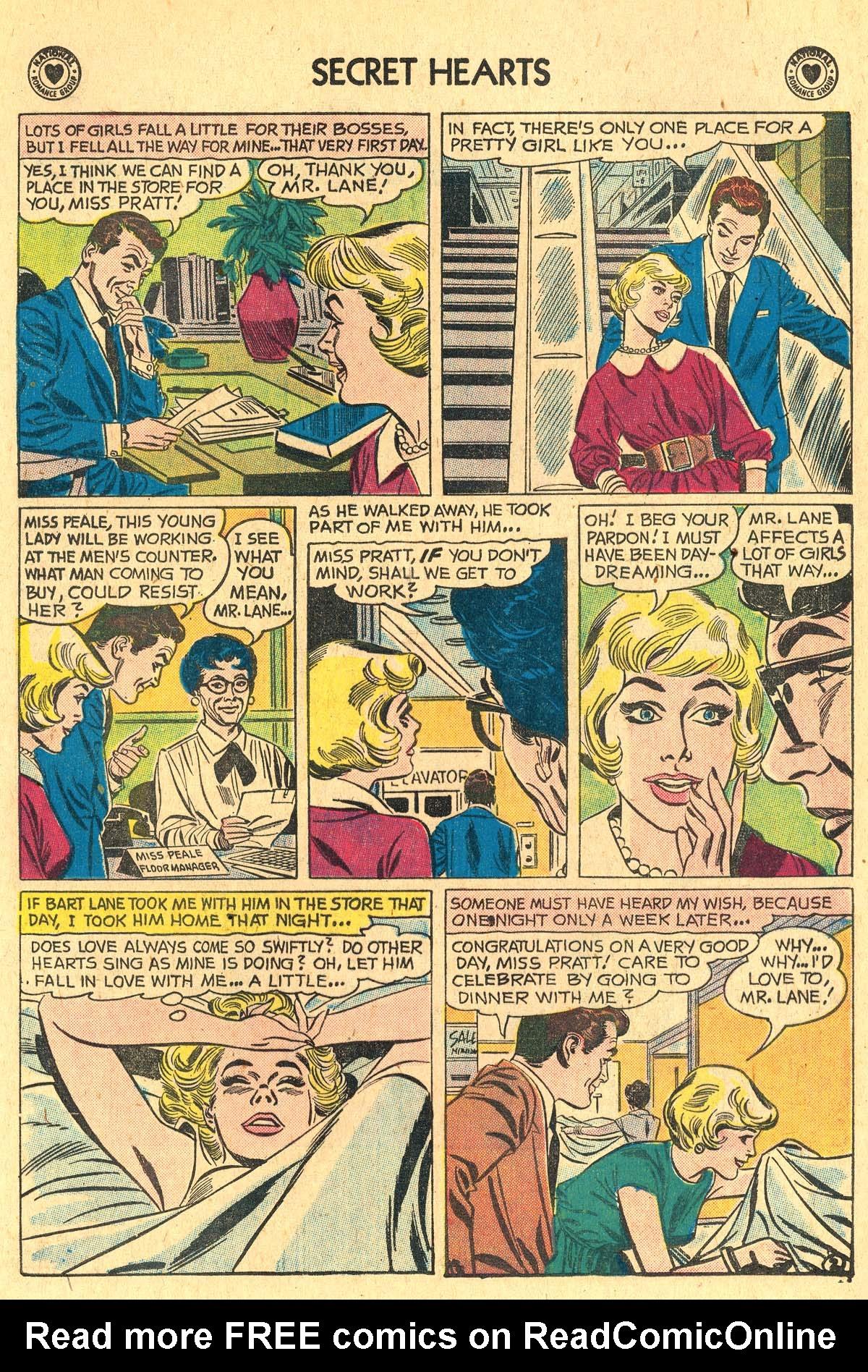 Read online Secret Hearts comic -  Issue #60 - 4