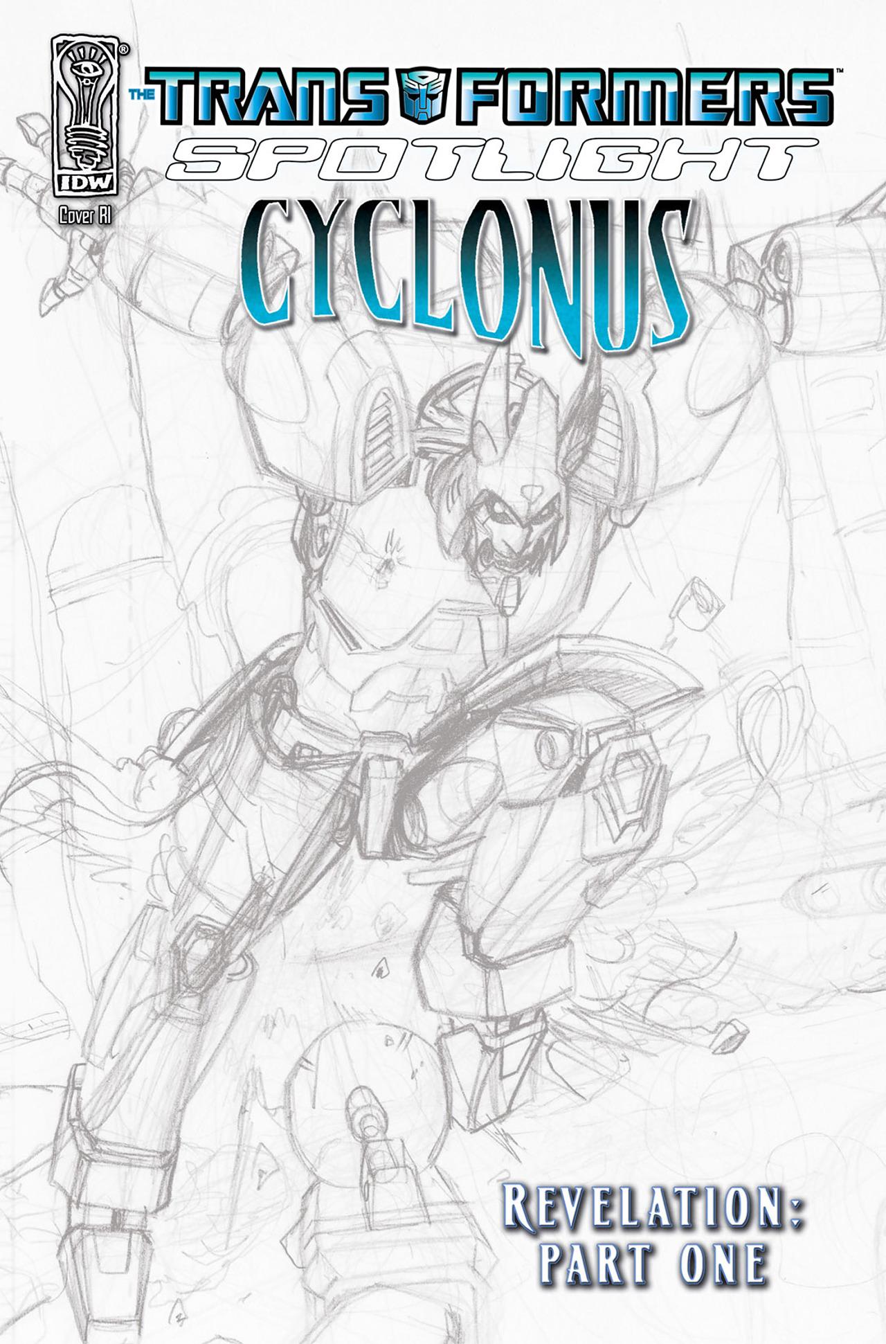 Read online Transformers Spotlight: Cyclonus comic -  Issue # Full - 3