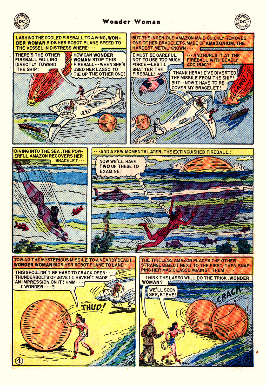 Read online Wonder Woman (1942) comic -  Issue #54 - 6