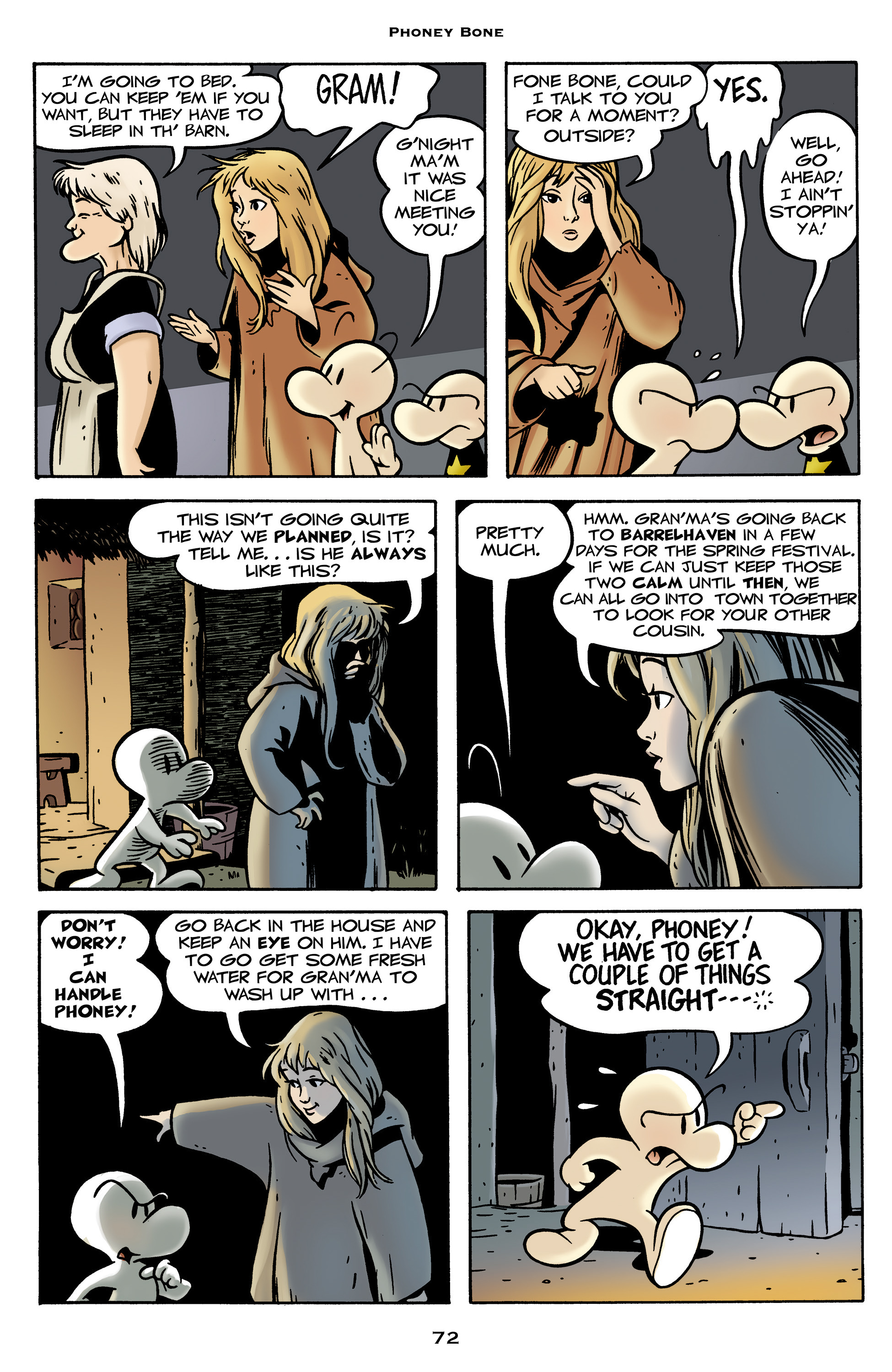 Read online Bone: Out From Boneville comic -  Issue # TPB - 72